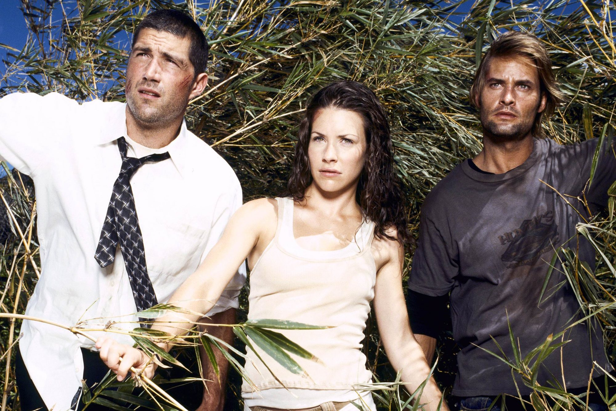 MATTHEW FOX, EVANGELINE LILLY, JOSH HOLLOWAY