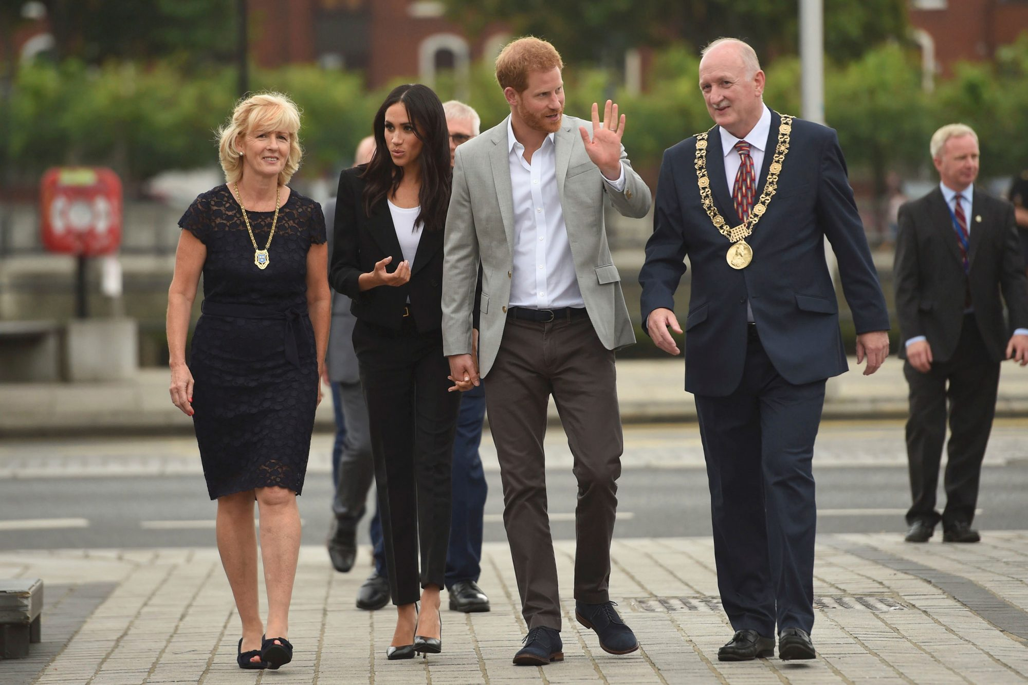 Royal visit to Dublin - Day Two