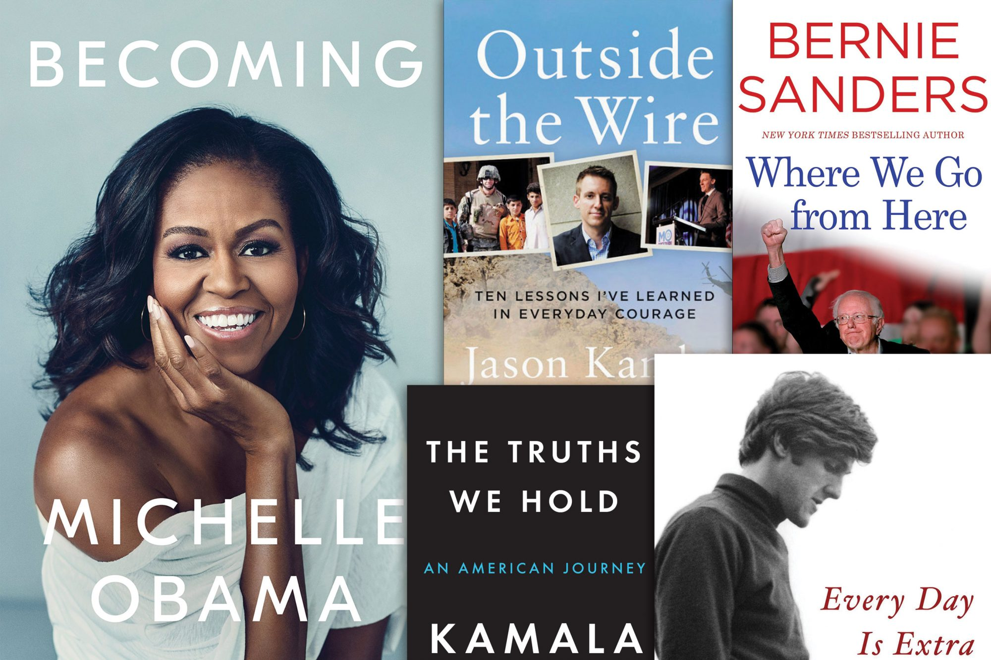 Upcoming books from 2020 candidates