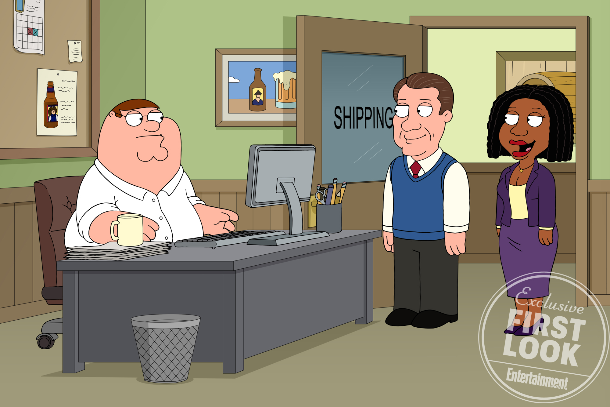 Family Guy Exclusive First LookCredit: FOX