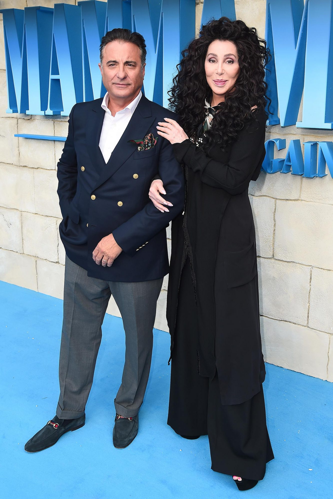 Andy Garcia and Cher