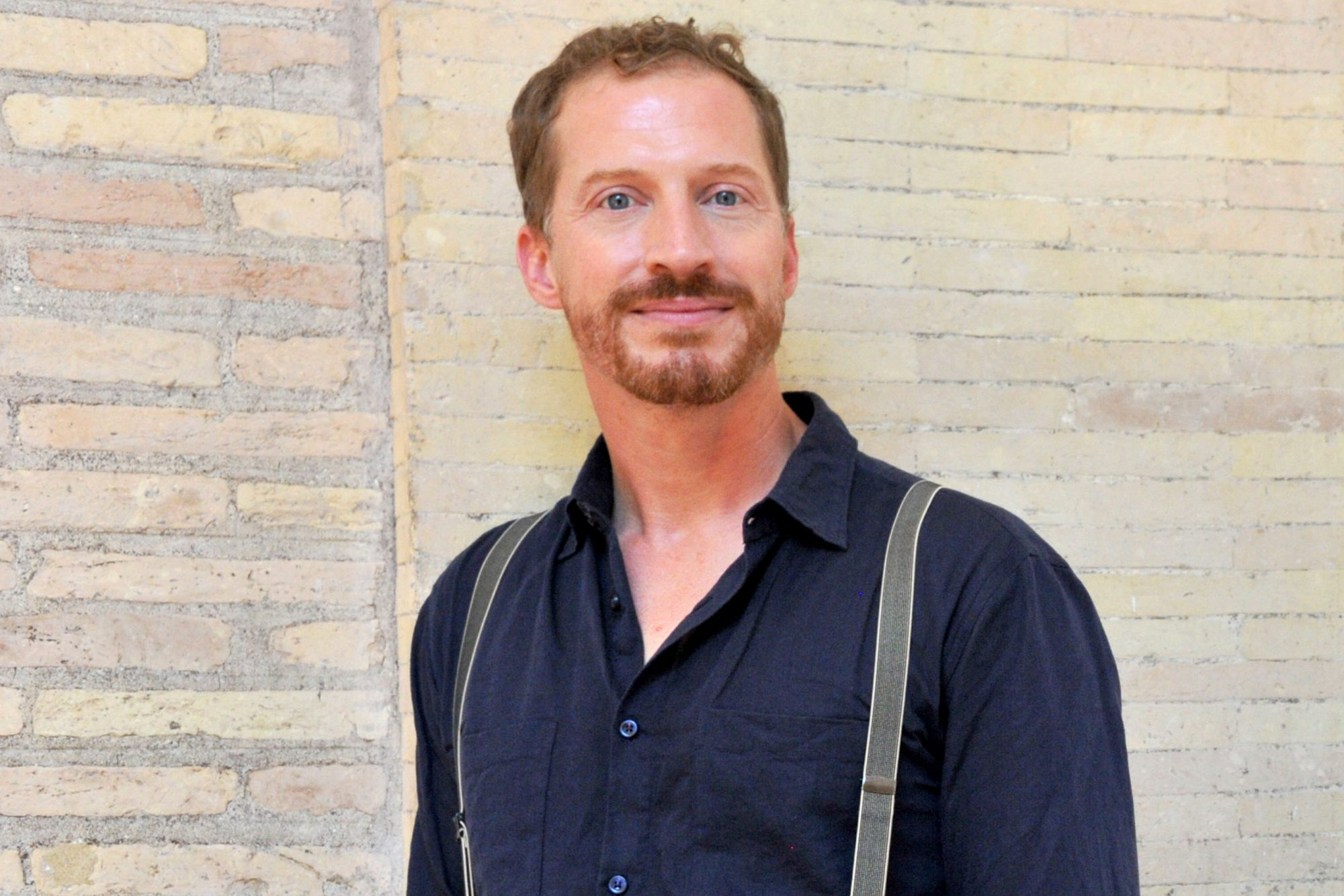 Andrew Sean Greer Portrayed At 'Festival Delle Letterature' In Rome
