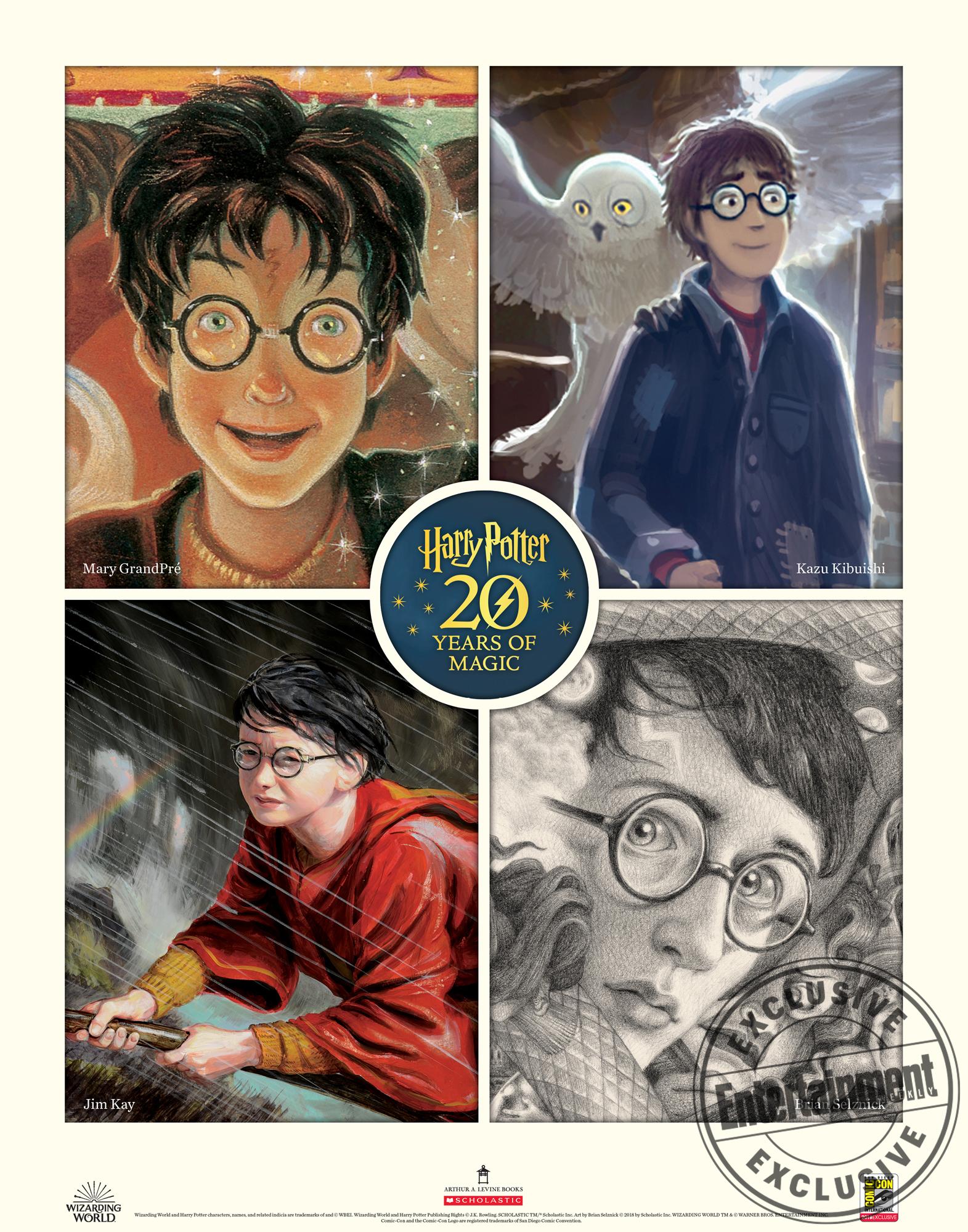 Harry Potter ComicCon graphic