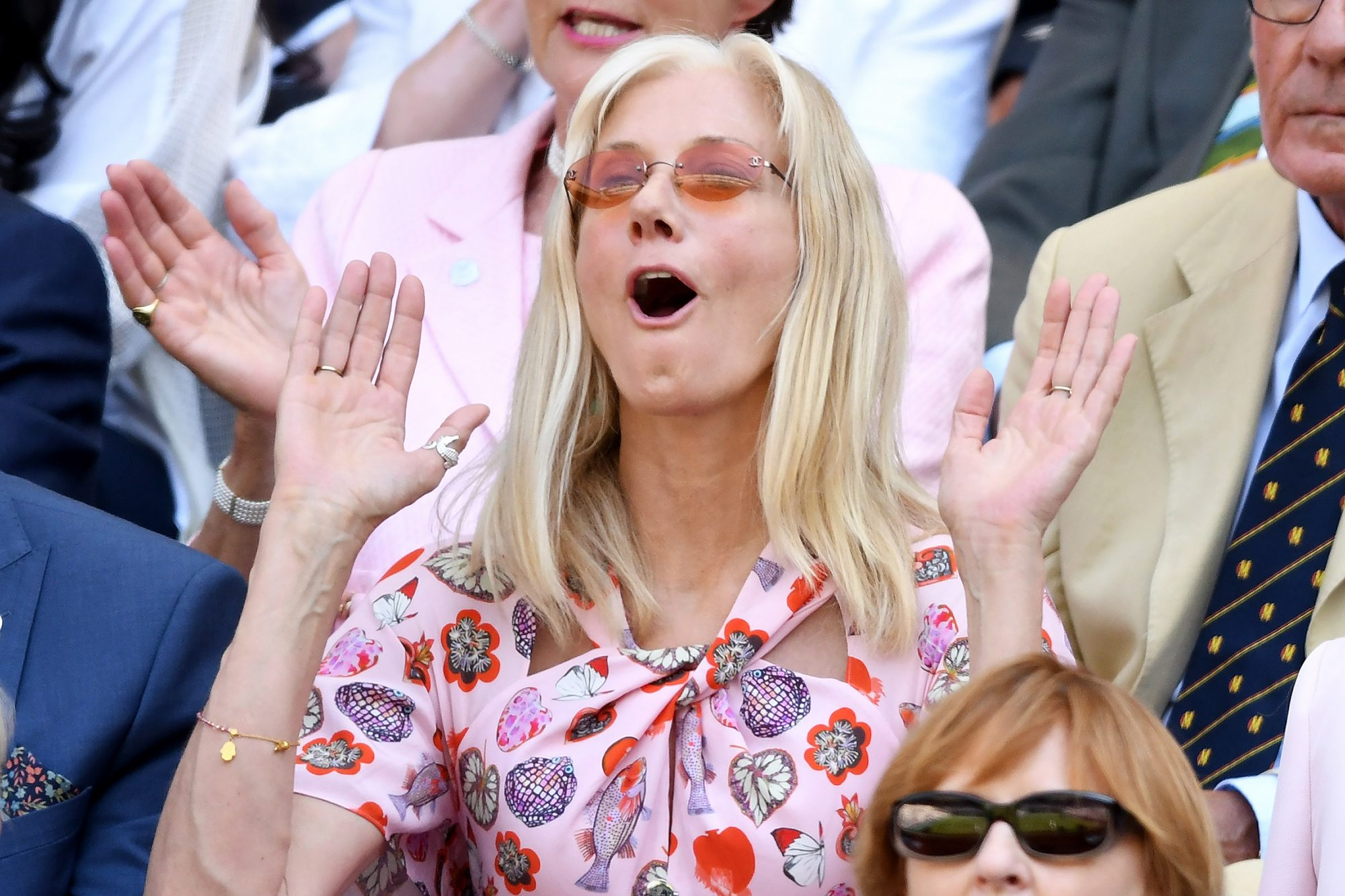 Serena's Not the Only Star: See All of the Celebrities at Wimbledon