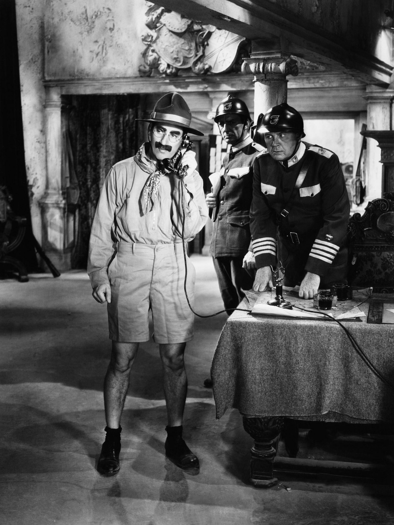 DUCK SOUP, Groucho Marx (with telephone), 1933