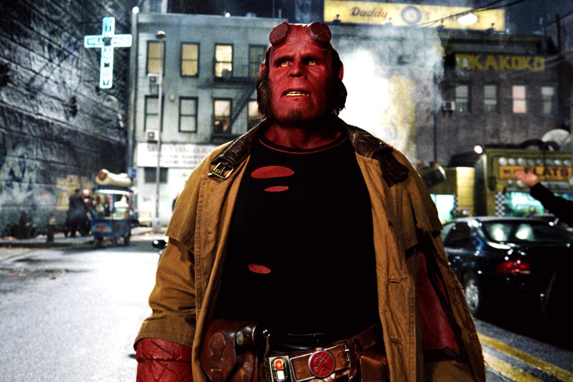 Hellboy 2: Notes on the greatest superhero fantasy of the 21st century   EW.com