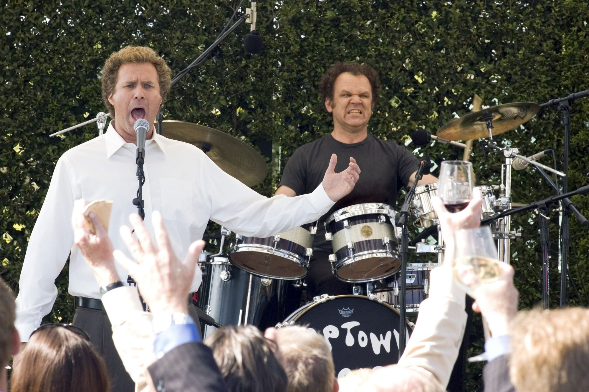 STEP BROTHERS, from left: Will Ferrell, John C. Reilly, 2008. ©Columbia Pictures/courtesy Everett Co