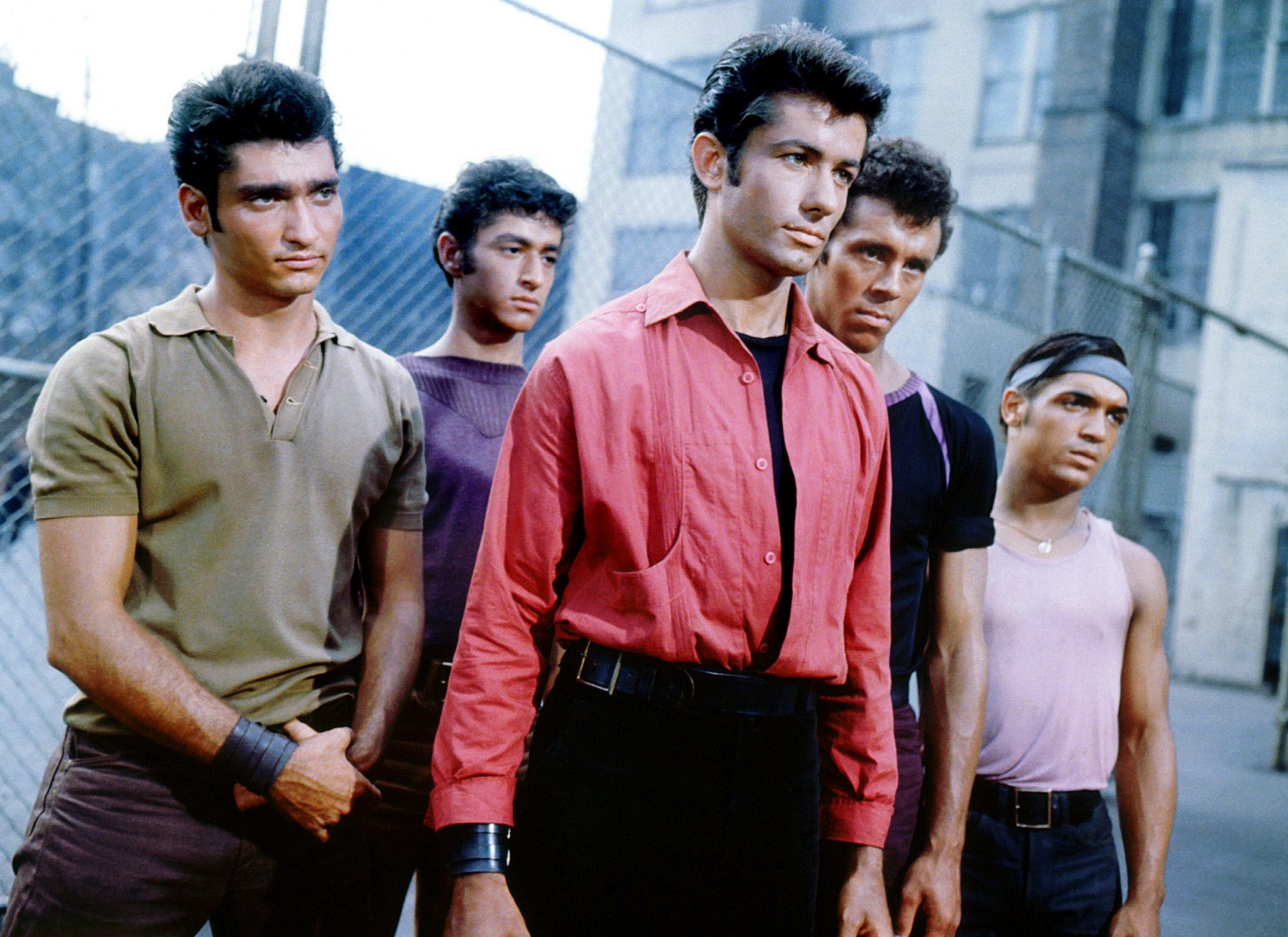WEST SIDE STORY, George Chakiris (front), 1961