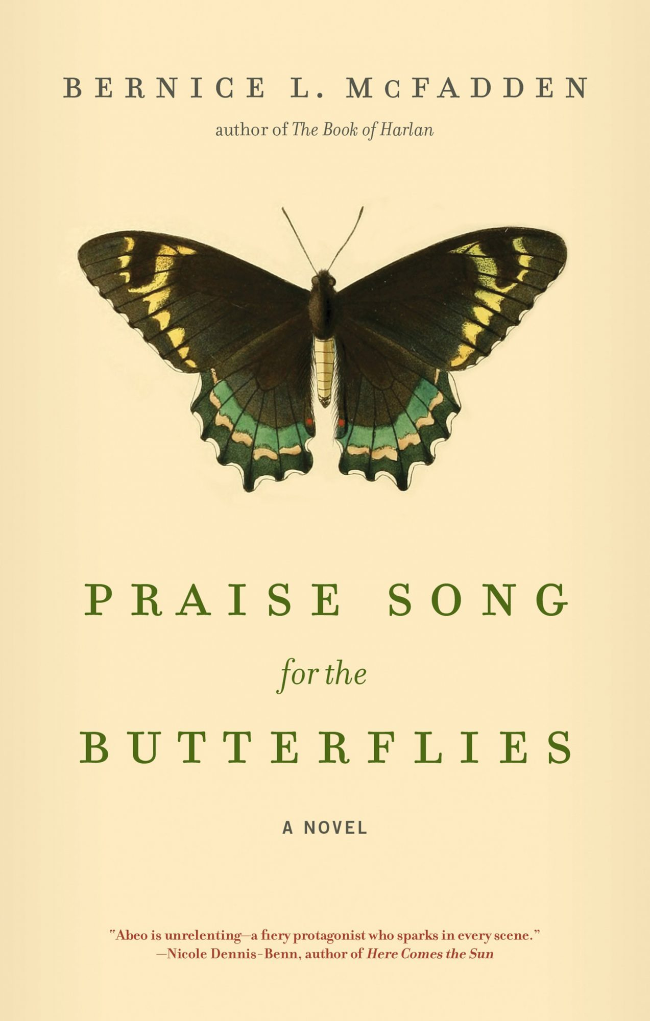 Praise Song for the Butterflies by Bernice L. McFadden  Akashic Books