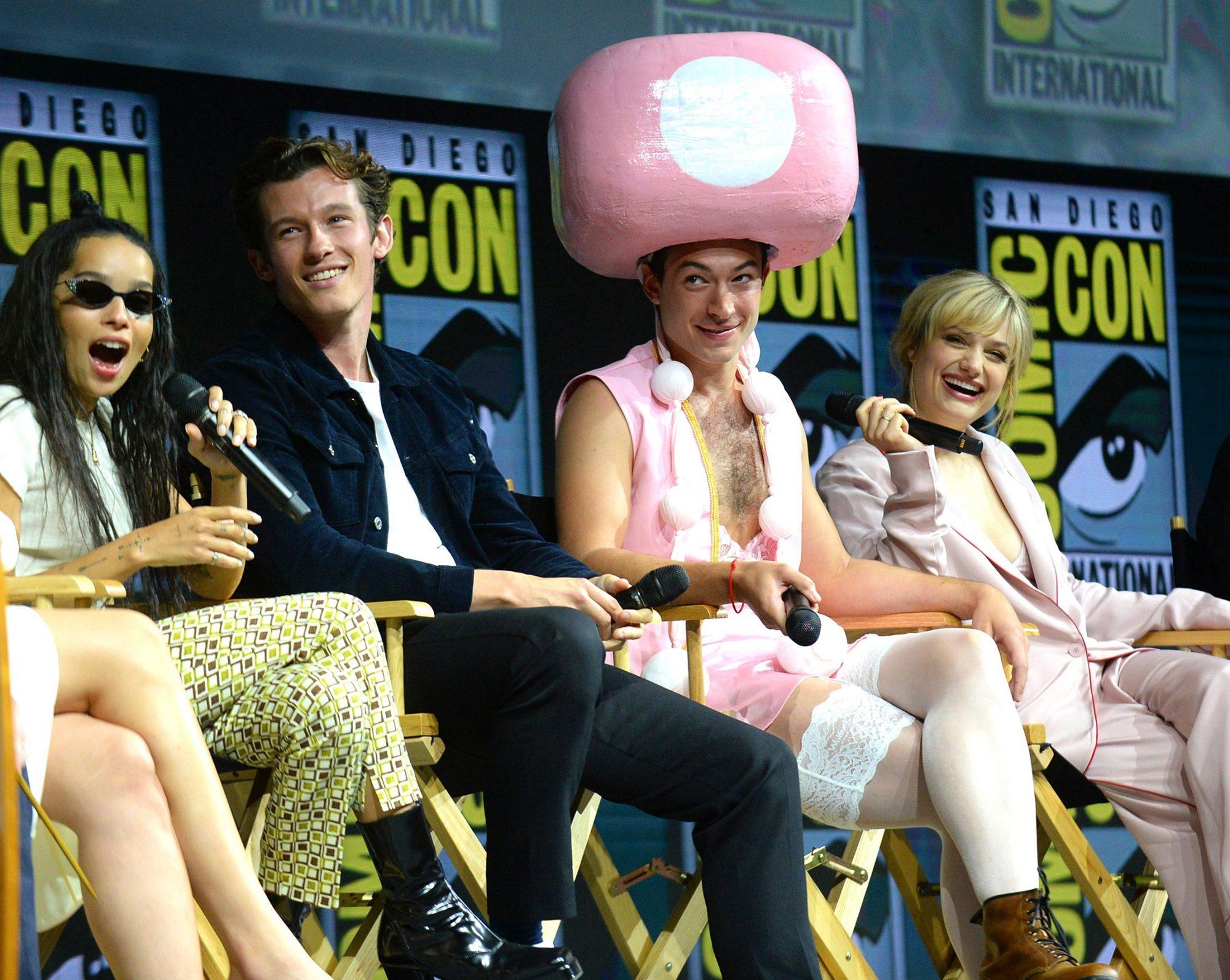 'Warner Bros Studio' panel, Comic-Con International, San Diego, USA - 21 Jul 2018