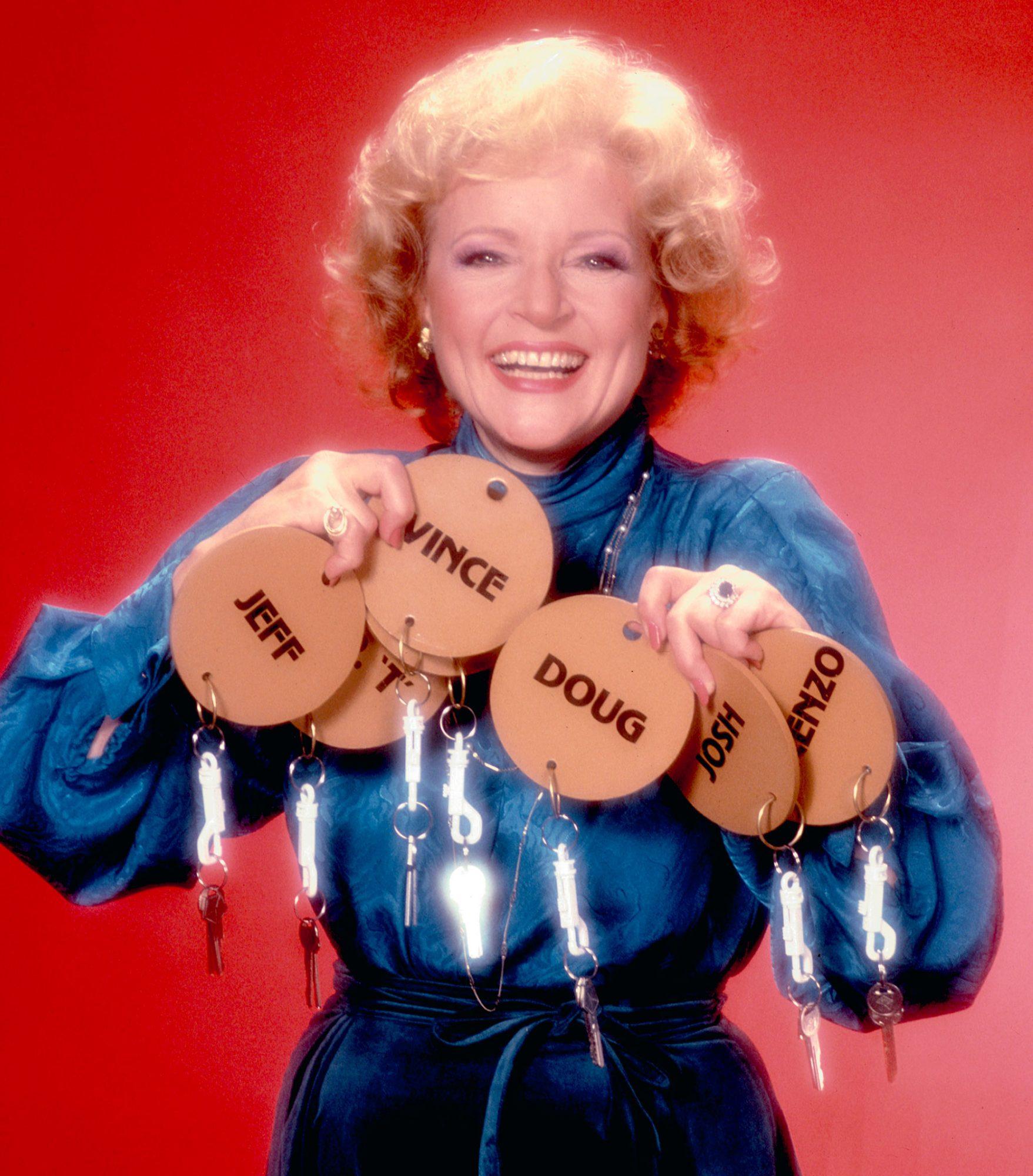 JUST MEN!, Host Betty White, 1983. © NBC/ Courtesy: Everett Collection