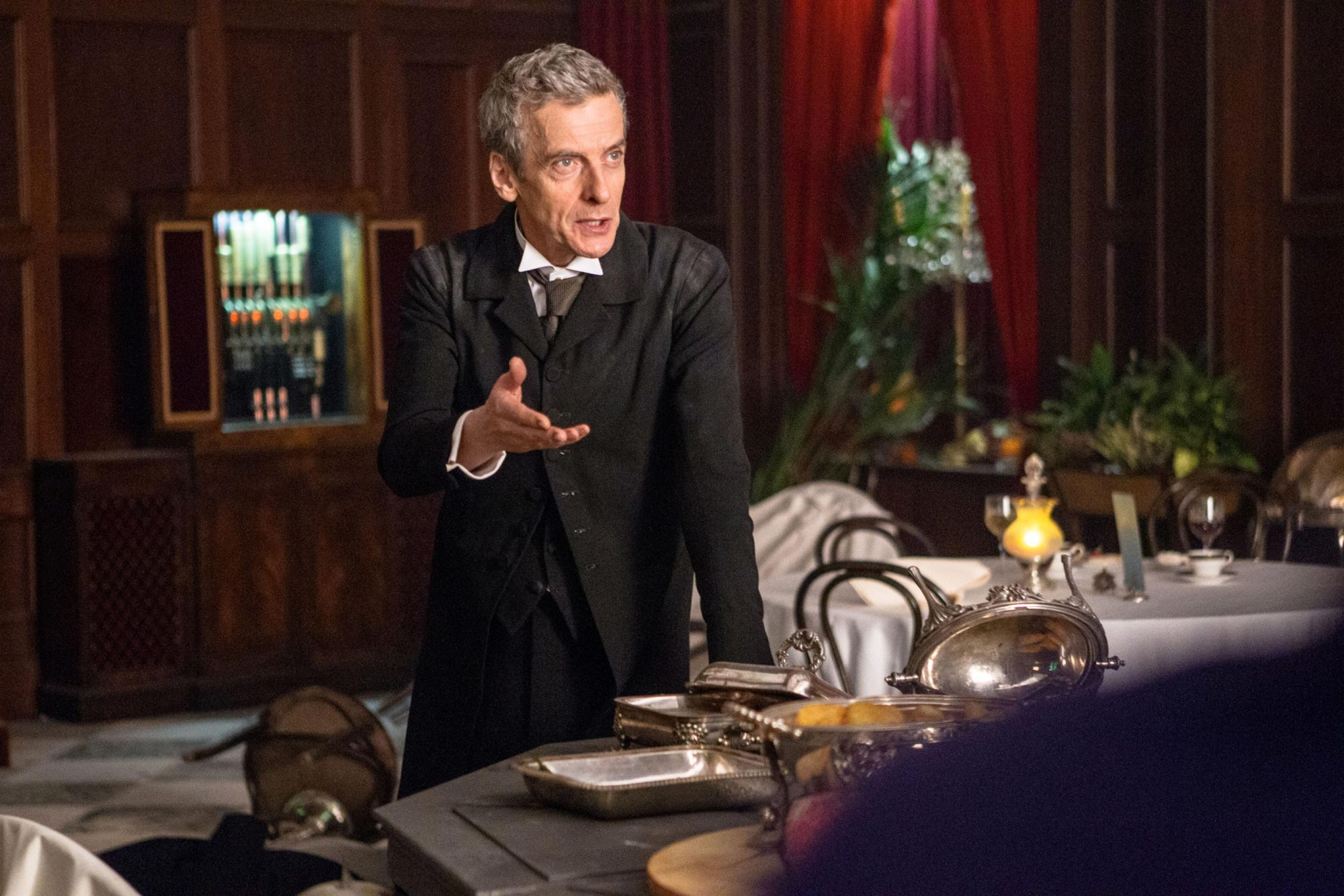 DOCTOR WHO, Peter Capaldi, 'Deep Breath', (Season 8, ep. 801, aired Aug. 23, 2014). photo: ©BBC /