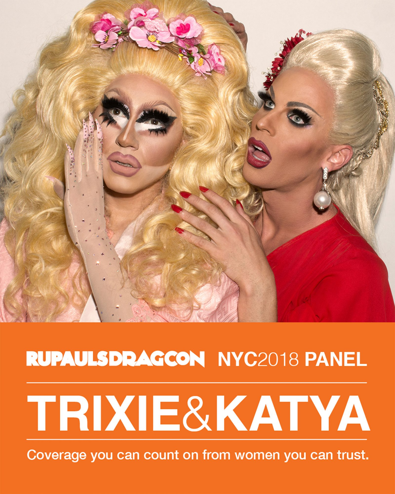 Trixie and Katya RuPaul's Dragcon