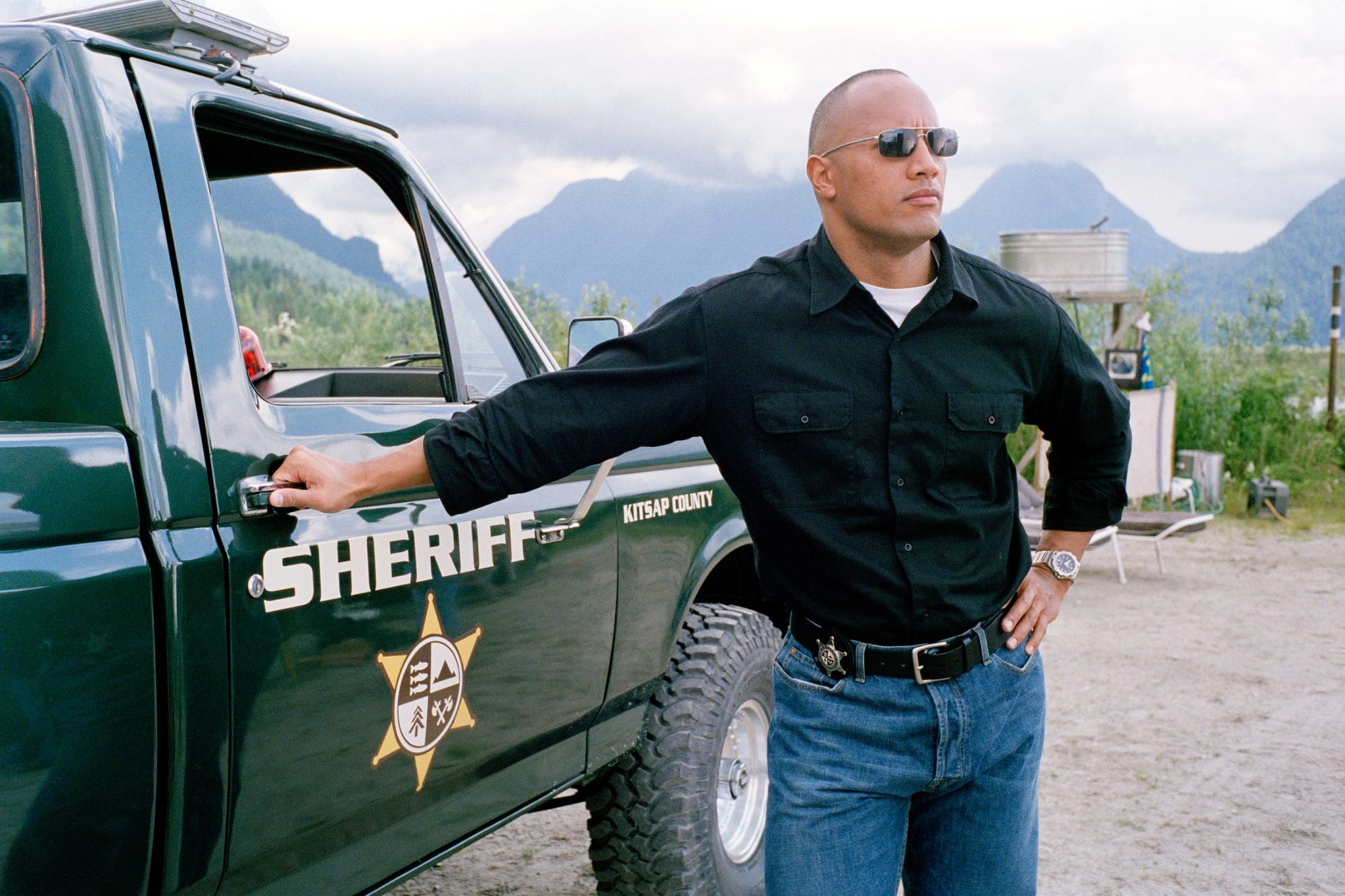 Walking Tall (2004)Dwayne Johnson (aka The Rock)