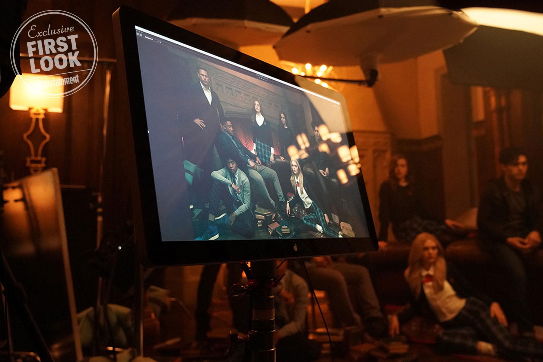 Alaric Saltzman (Matthew Davis), Milton Gladston, a.k.a. MG (Quincy Fouse), Rafael (Peyton Alex Smith), Hope Mikaelson (Danielle Rose Russell), Josie Saltzman (Kaylee Bryant), Lizzie Saltzman (Jenny Boyd), Landon Kirby (Aria Shahghasemi)