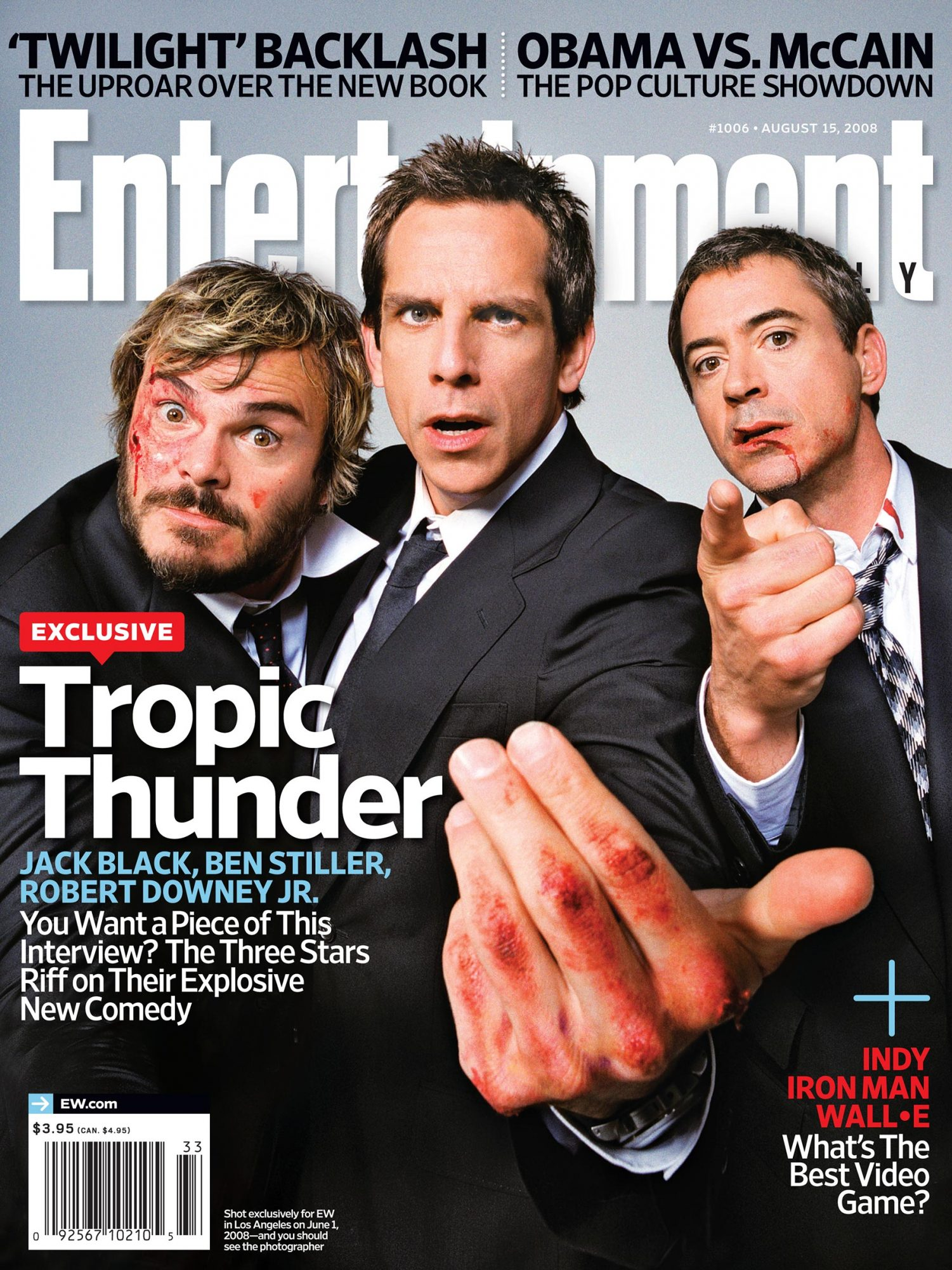 Entertainment WeeklyTropic ThunderAugust 15, 20081006