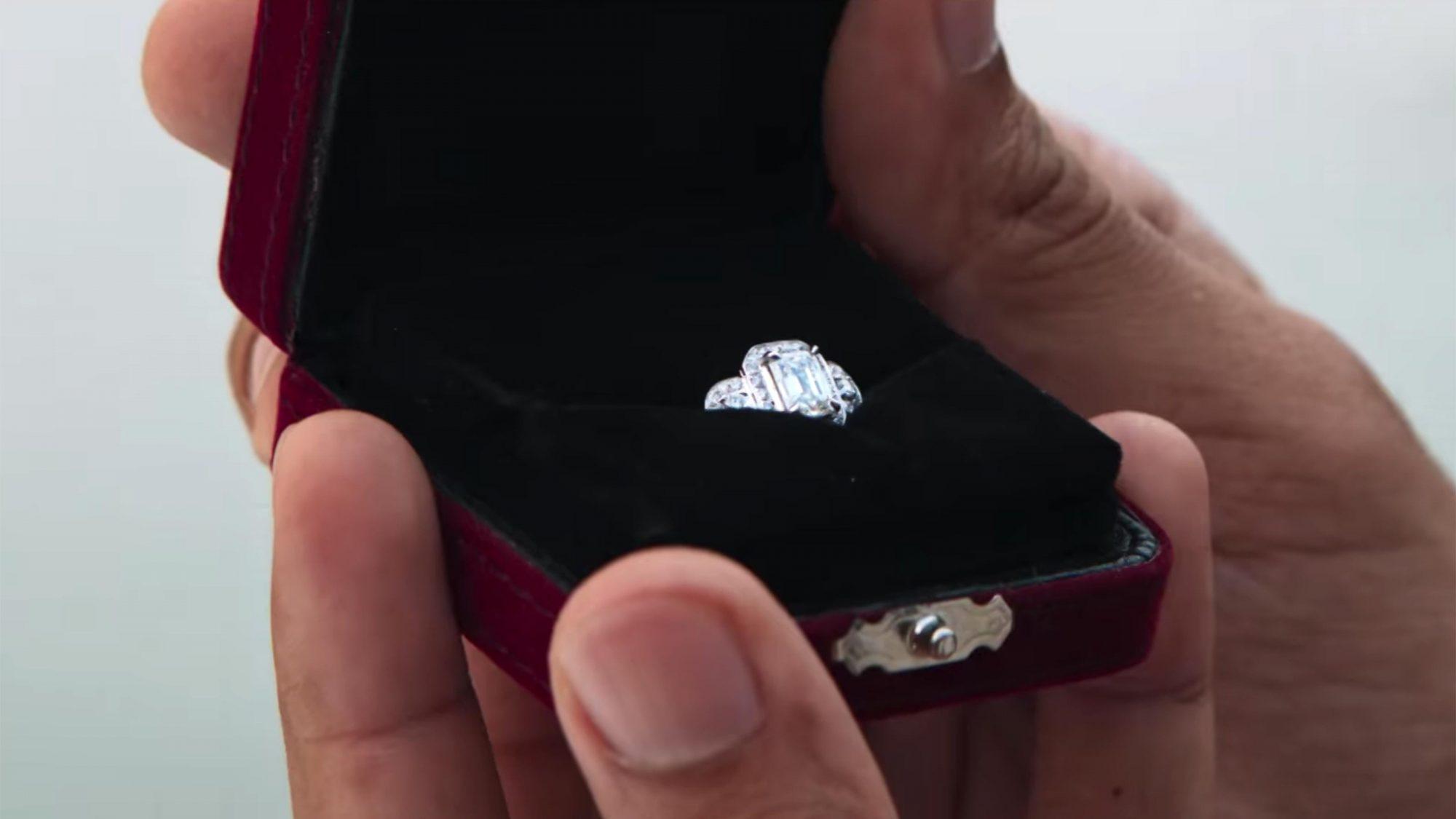 Rachel's engagement ring: $7,100