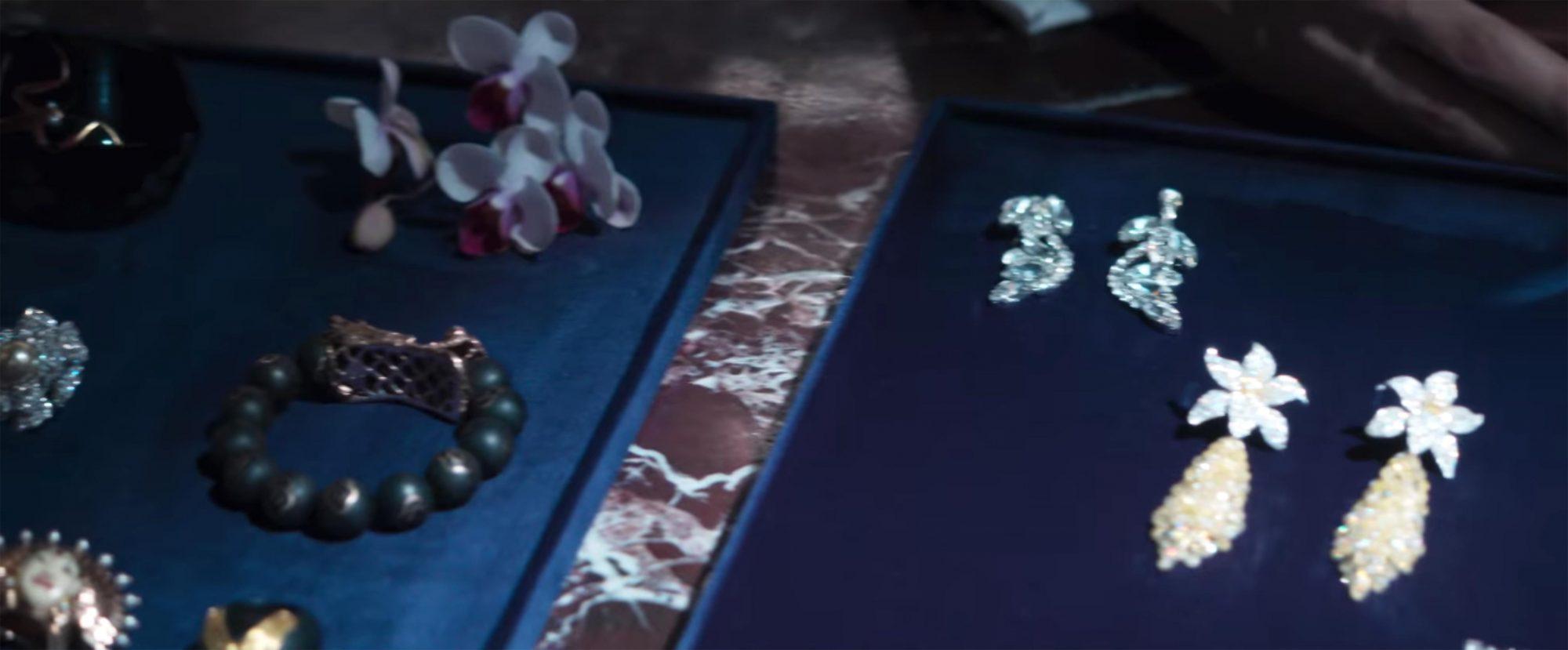 Burmese pearl drop earrings: $1.2 million