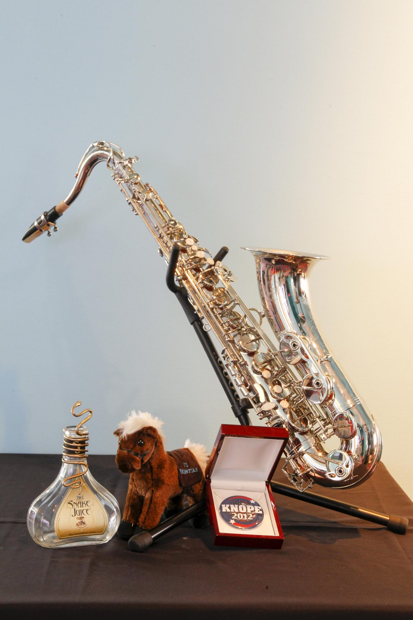 Duke Silver's (Nick Offerman) saxophone from Parks and Recreation