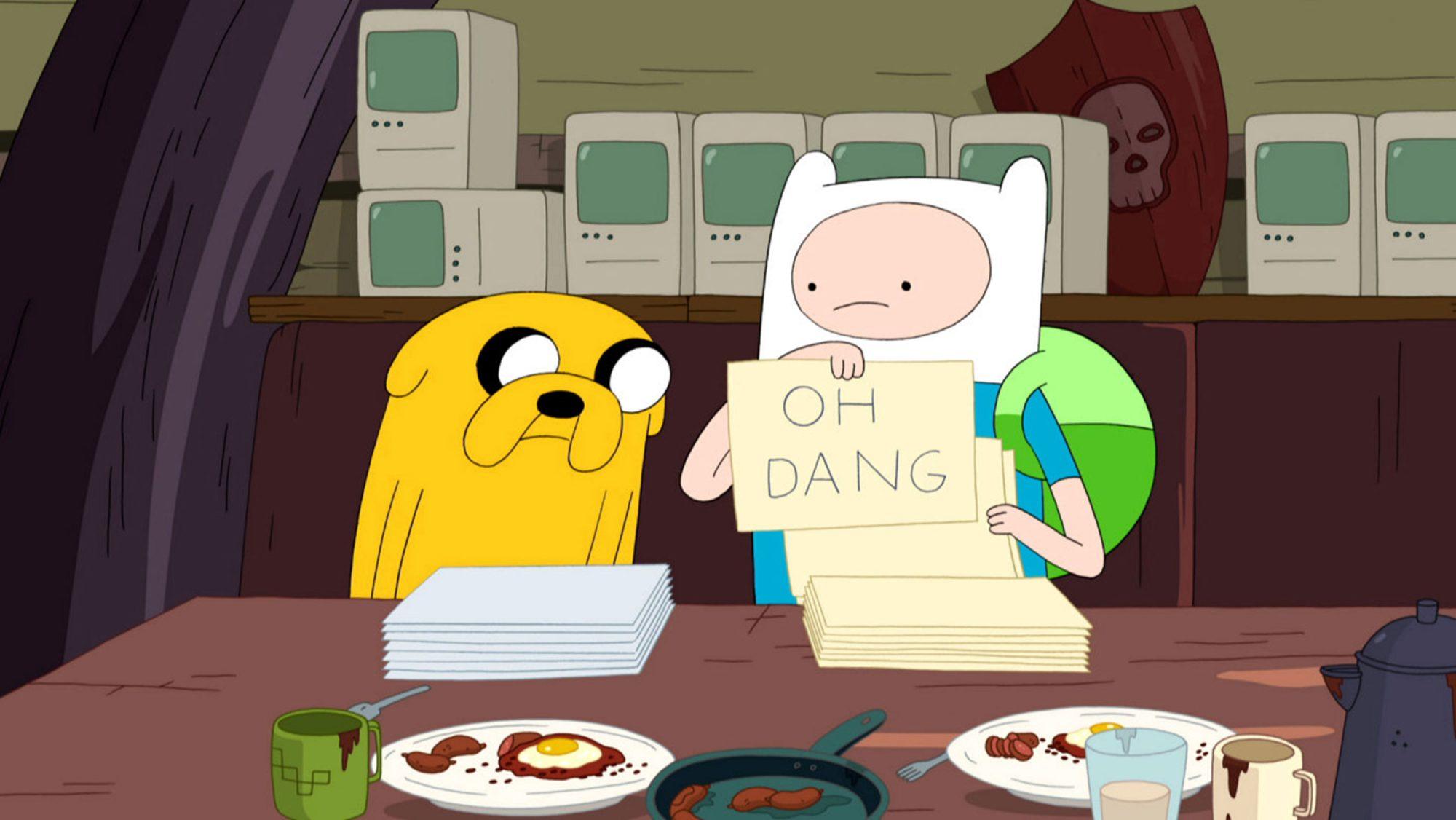 Adventure TimeShhCredit: Cartoon Network