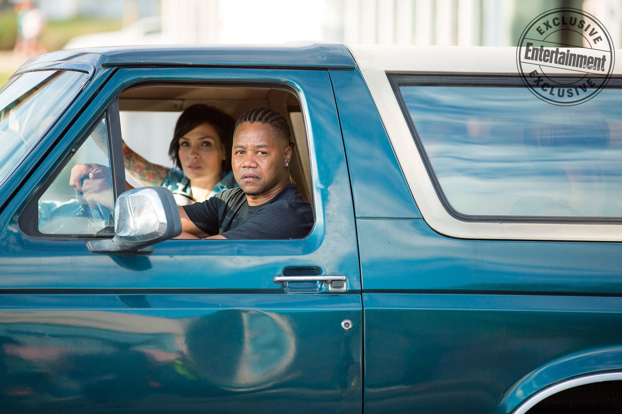 Bayou CaviarFamke Janssen and Cuba Gooding Jr.