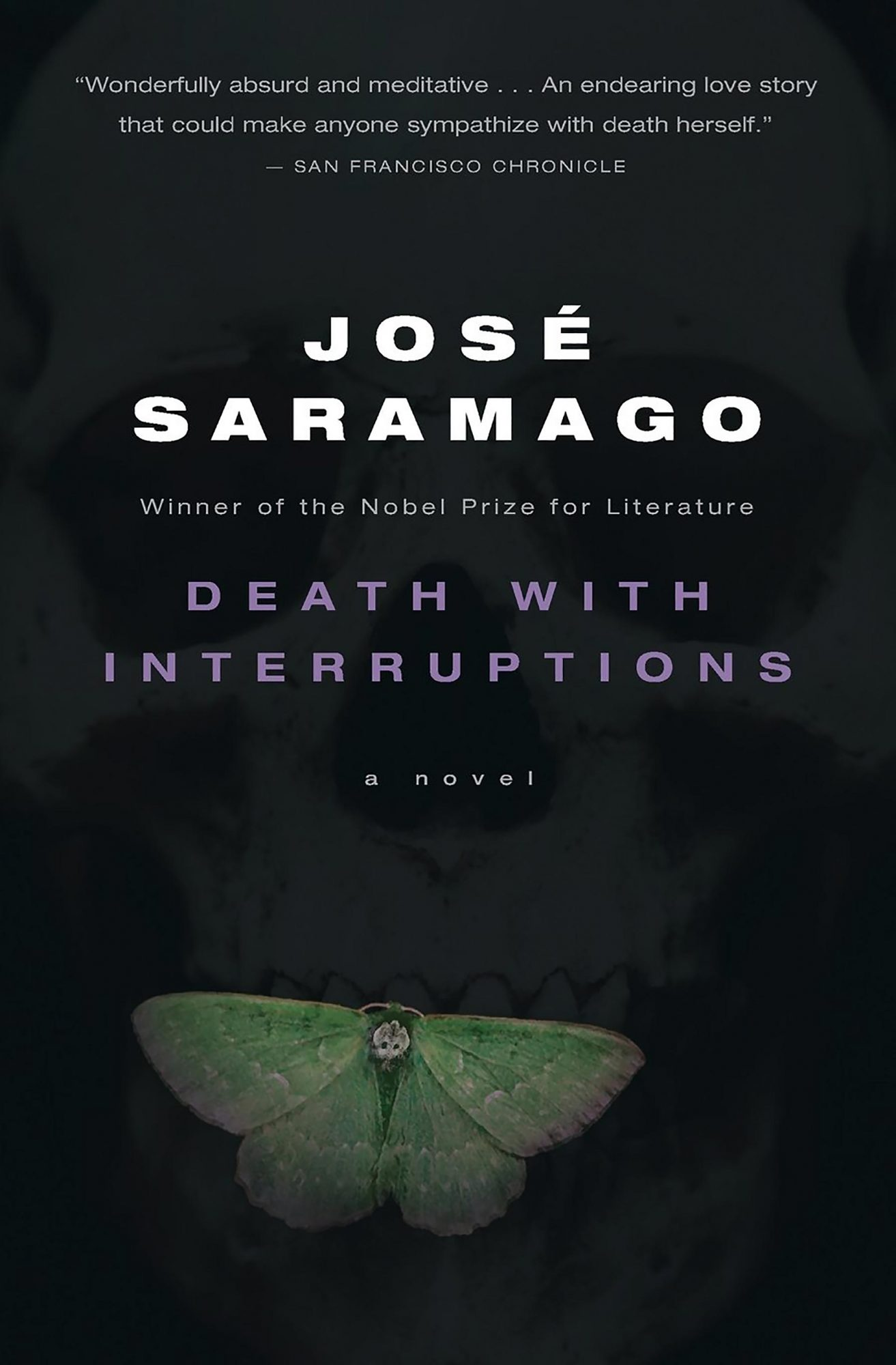 Death with Interruptions by Jose SaramagoCR: Mariner Books