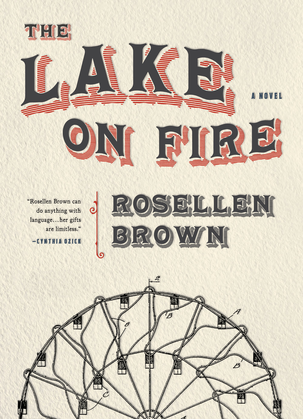 Rosellen Brown, The Lake on Fire CR: Sarabande Books