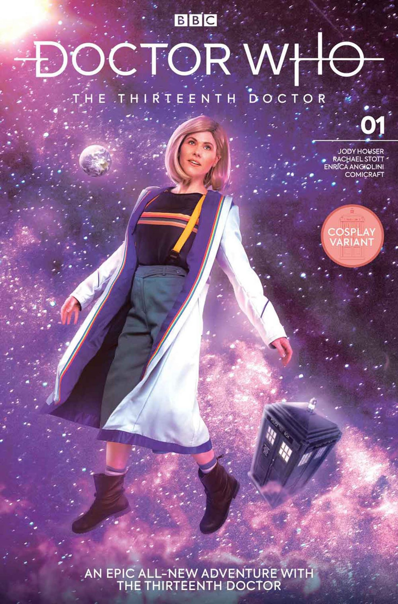 Doctor Who #1 Variant CoversThe Thirteenth DoctorCredit: Titan Comics