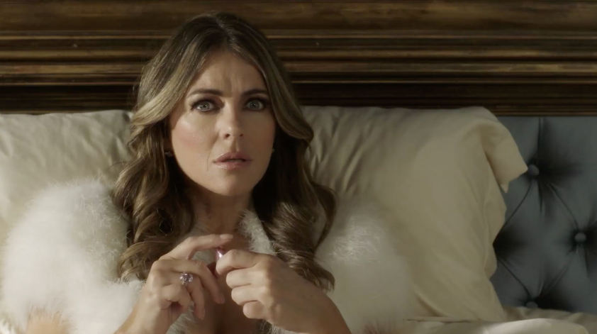 SCREENSHOT: Elizabeth Hurley on 'The Royals'