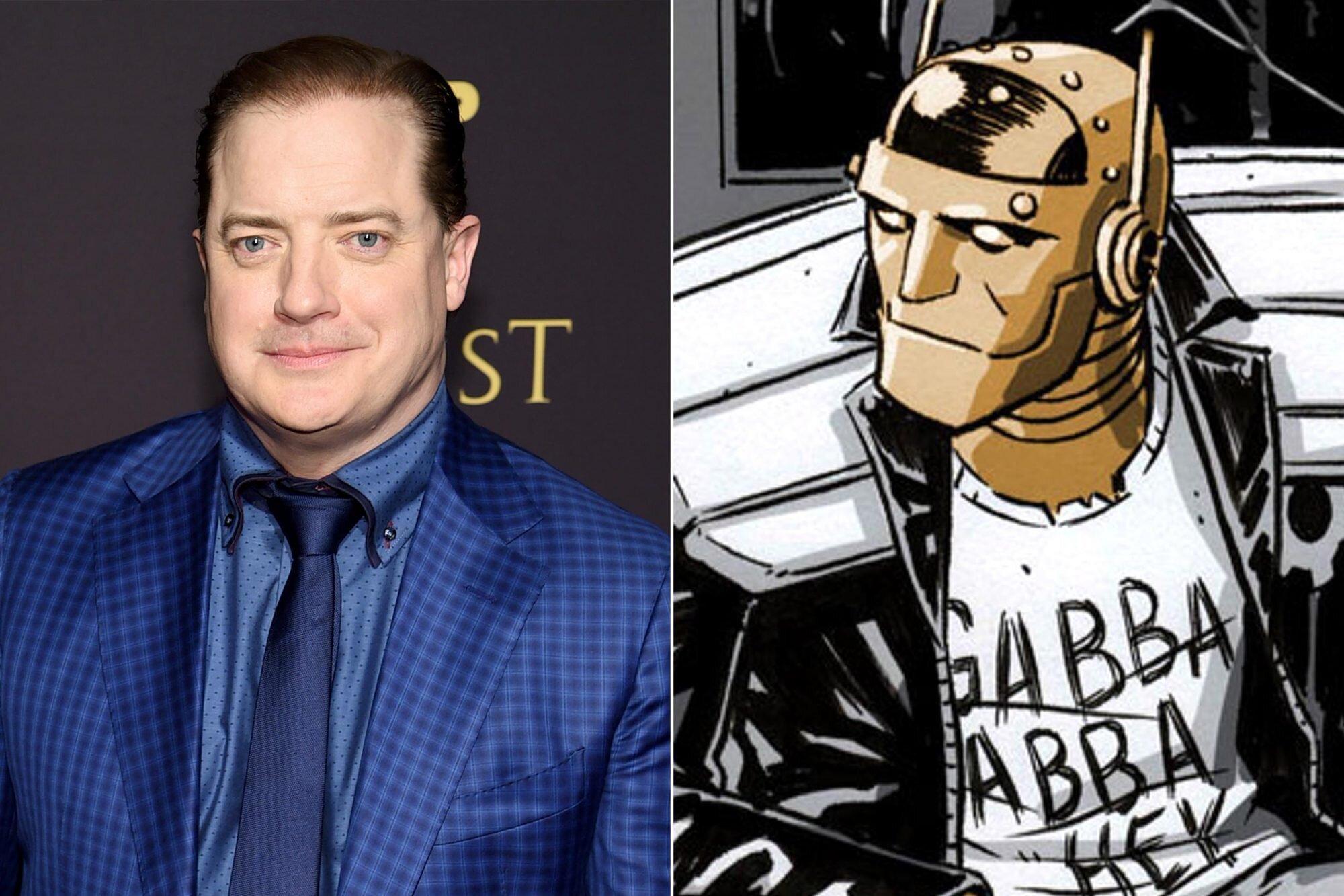 Doom Patrol Brendan Fraser Cast As Robotman In Dc Universe Series