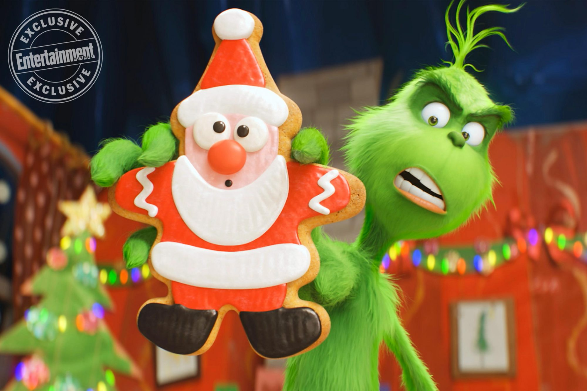 Dr. Seuss' The GrinchThe Grinch (voiced by Benedict Cumberbatch)