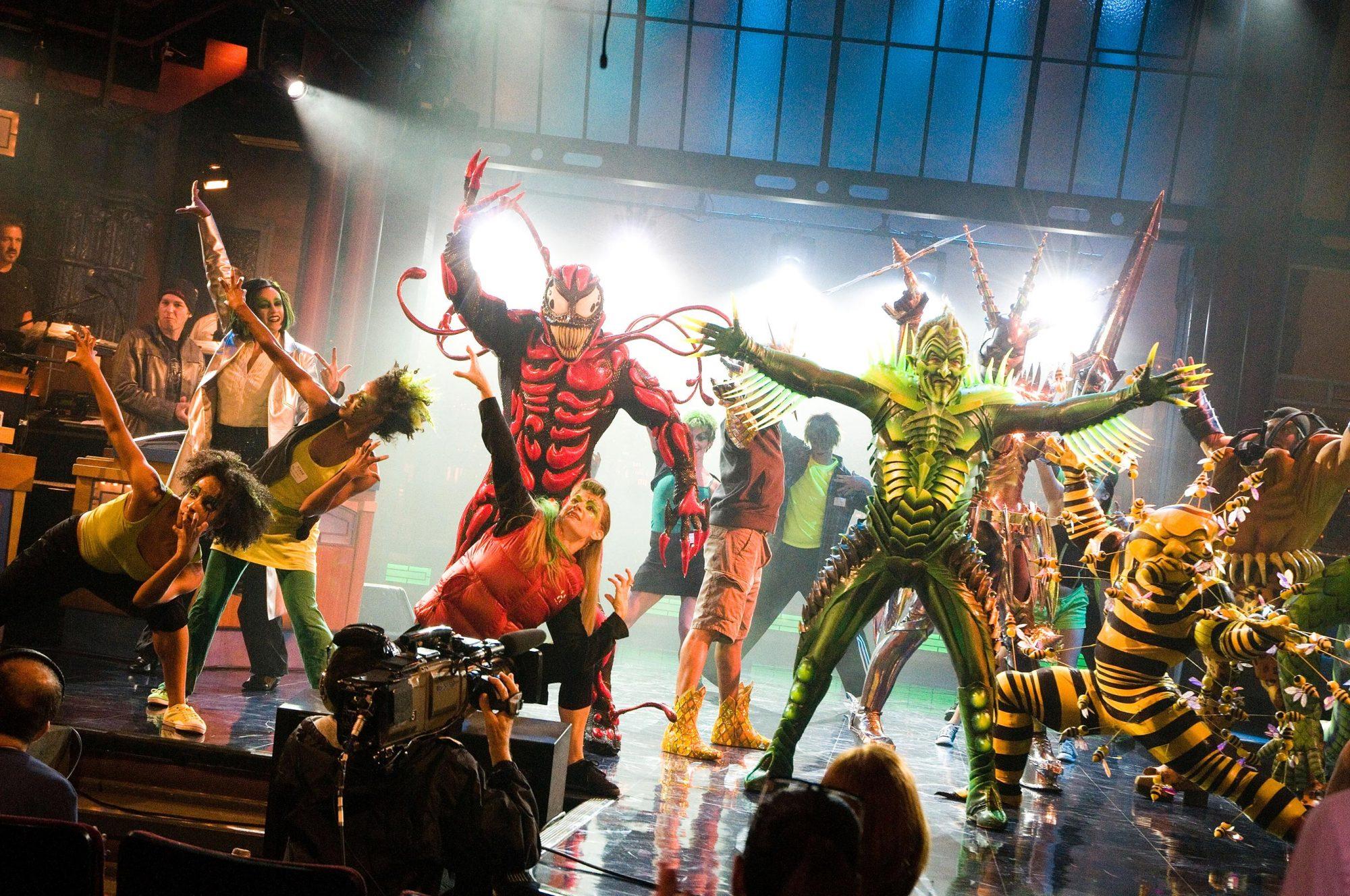 Celebrities Visit Broadway - July 18, 2011