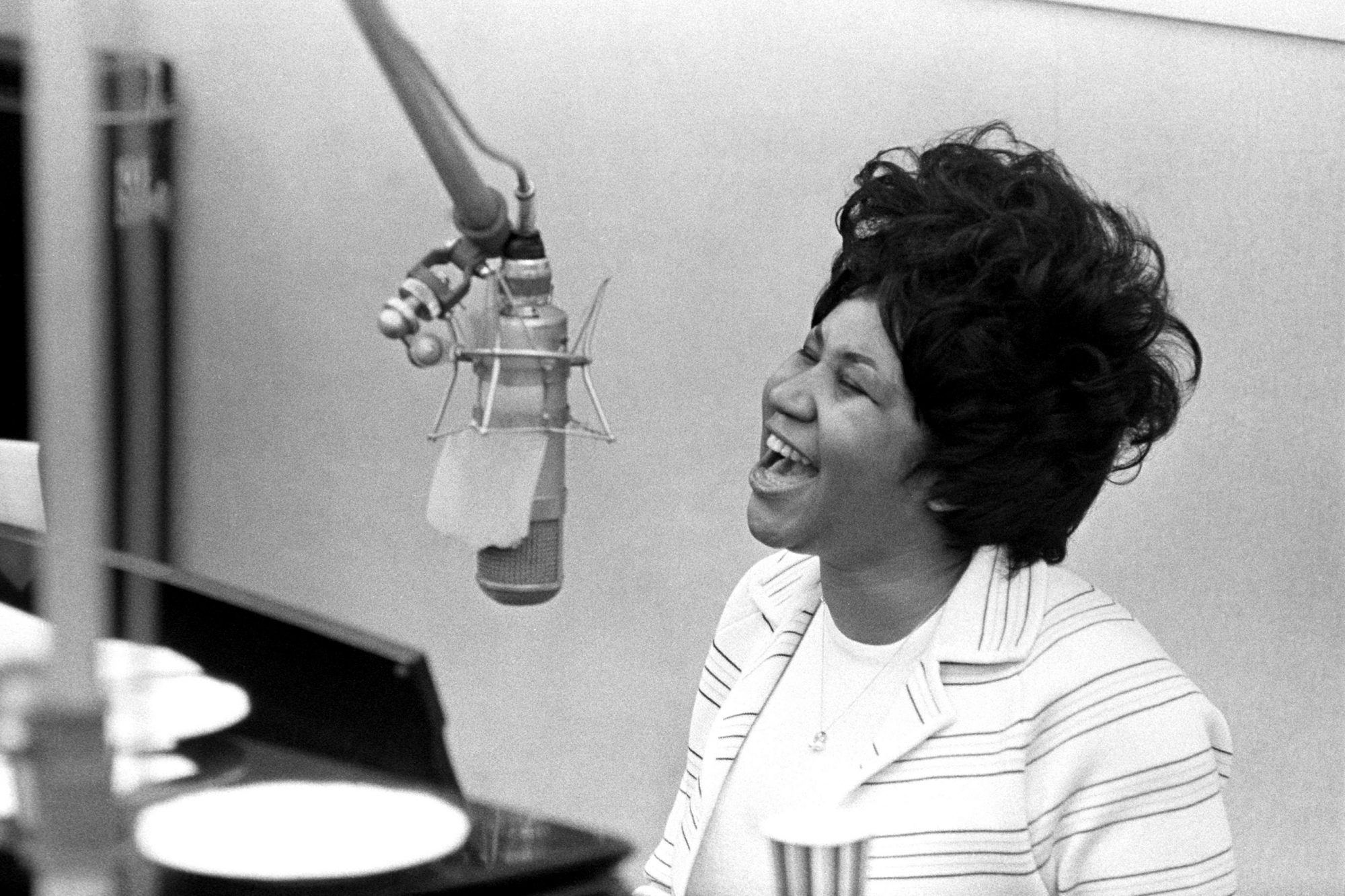 Queen Of Soul Recording In NY