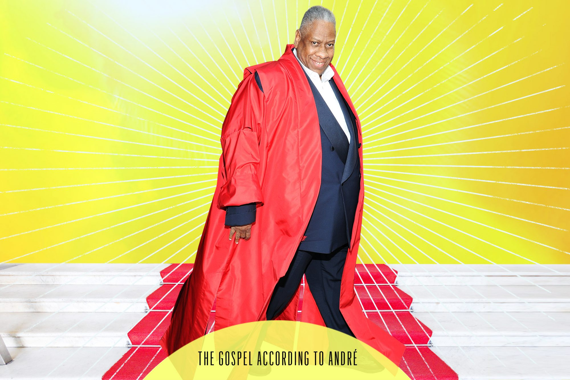André Leon Talley in The Gospel According to André