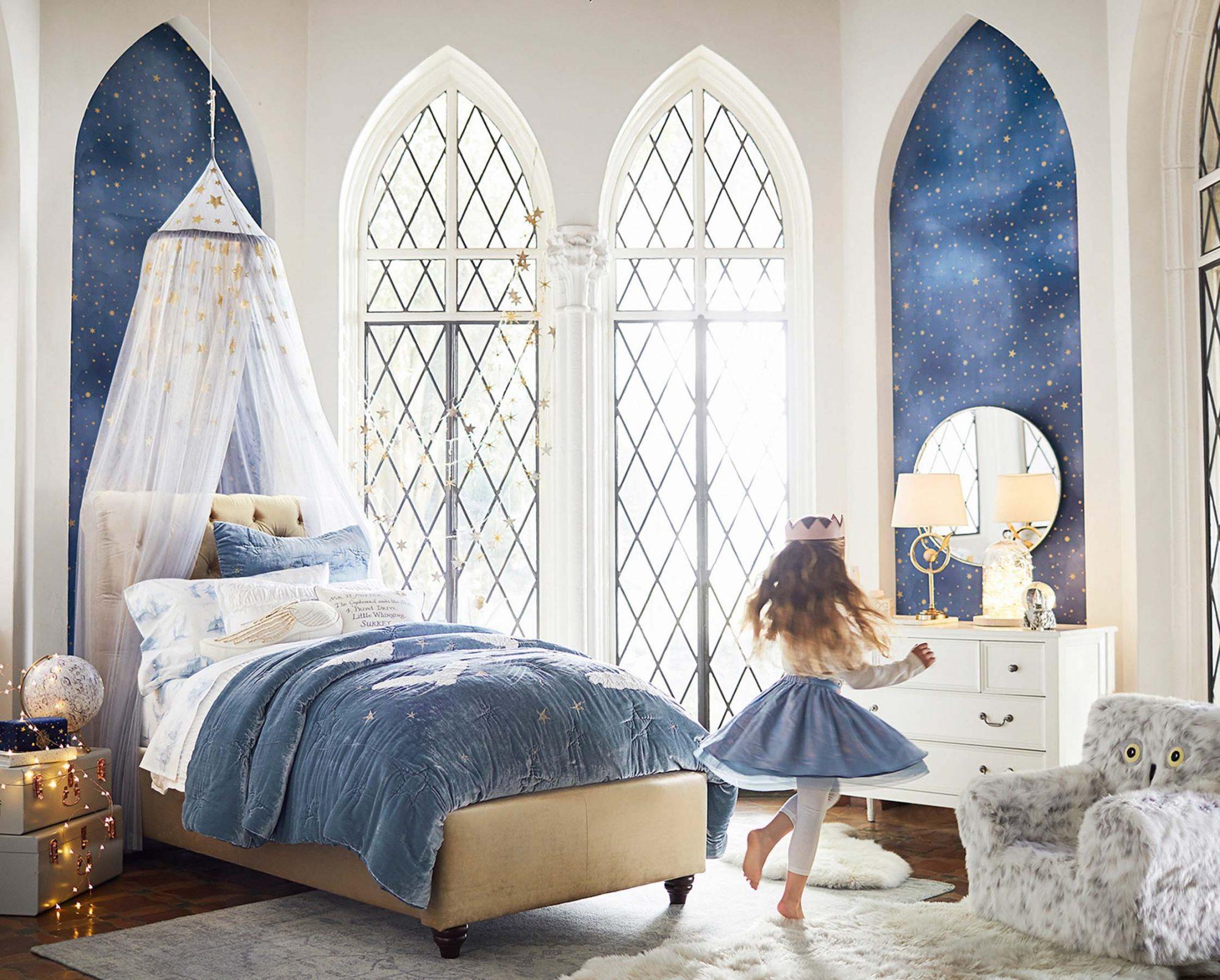 Harry Potter PBK Blue Bedroom