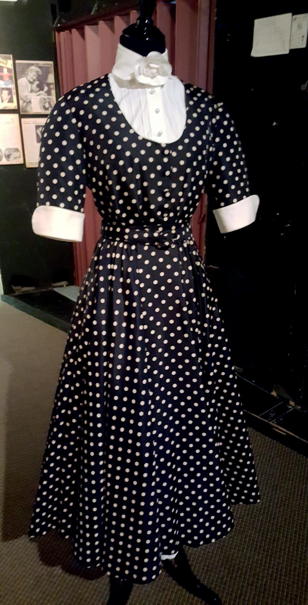 Lucy Ricardo's (Lucille Ball) polka dot dress from I Love Lucy