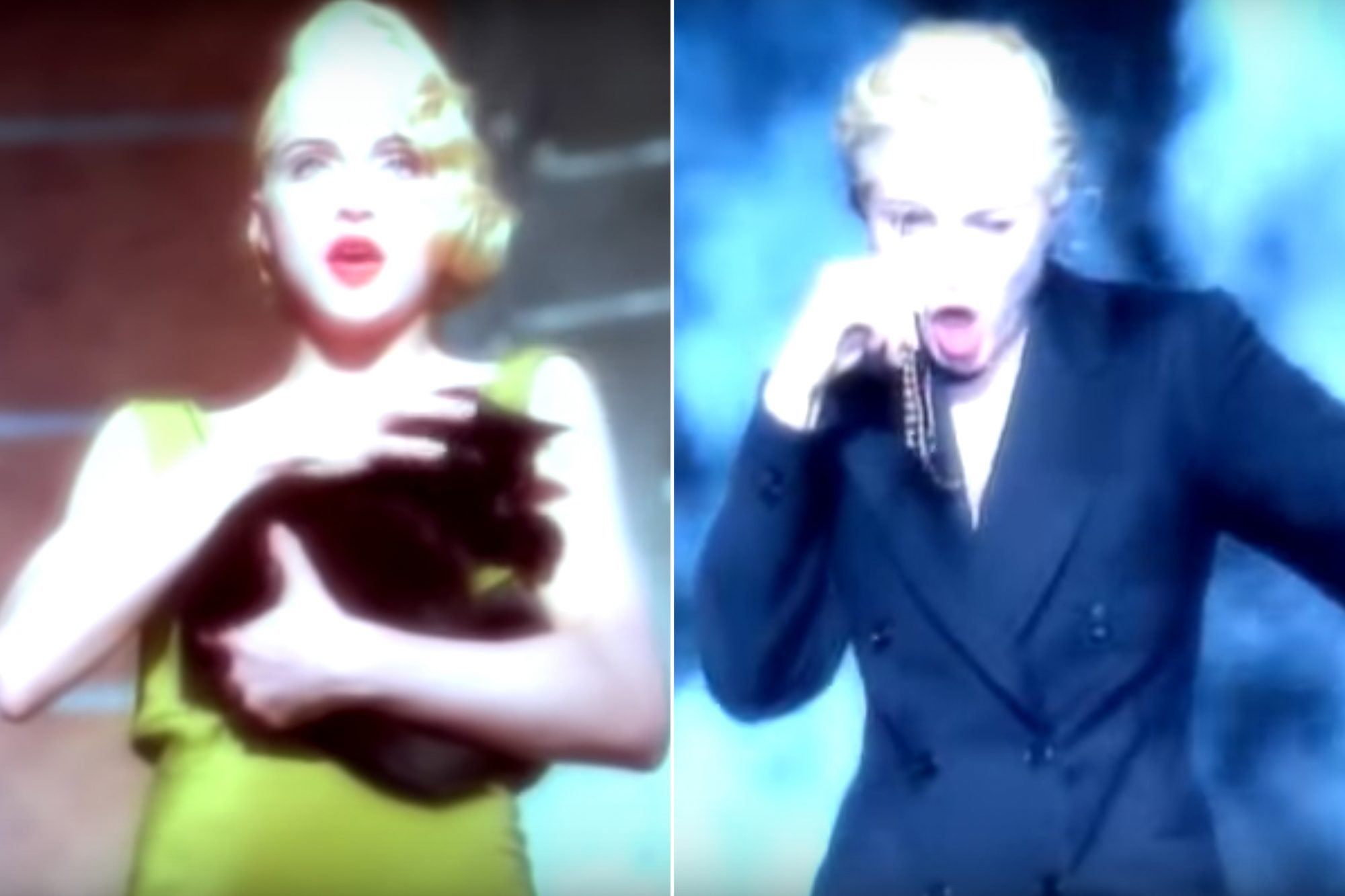 "1989: The ""Express Yourself"" music video"