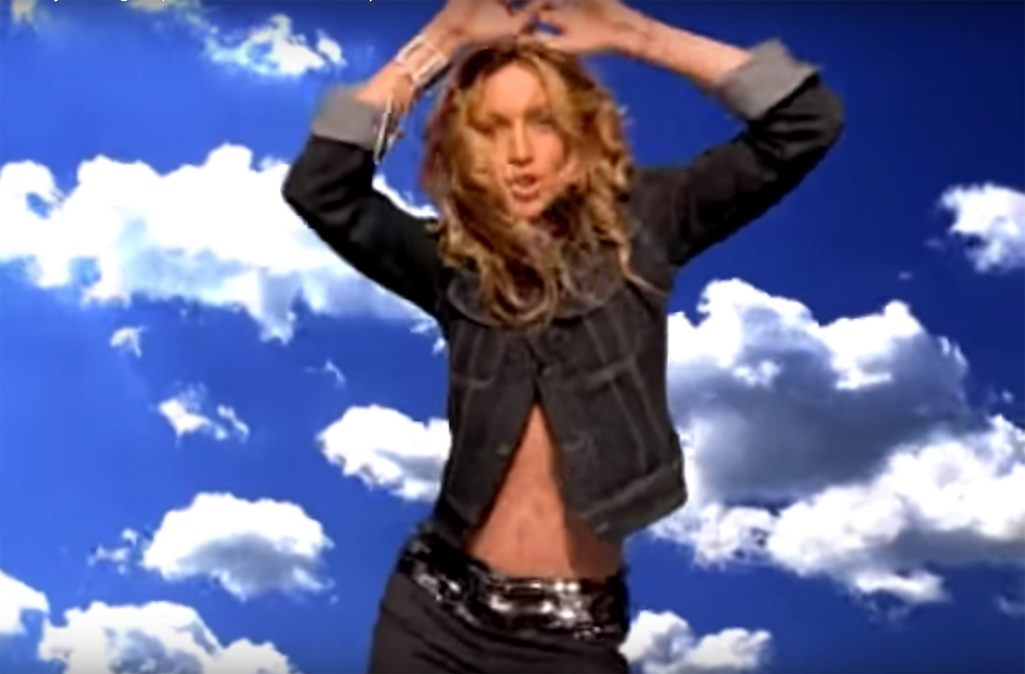 "1998: The ""Ray of Light"" music video"