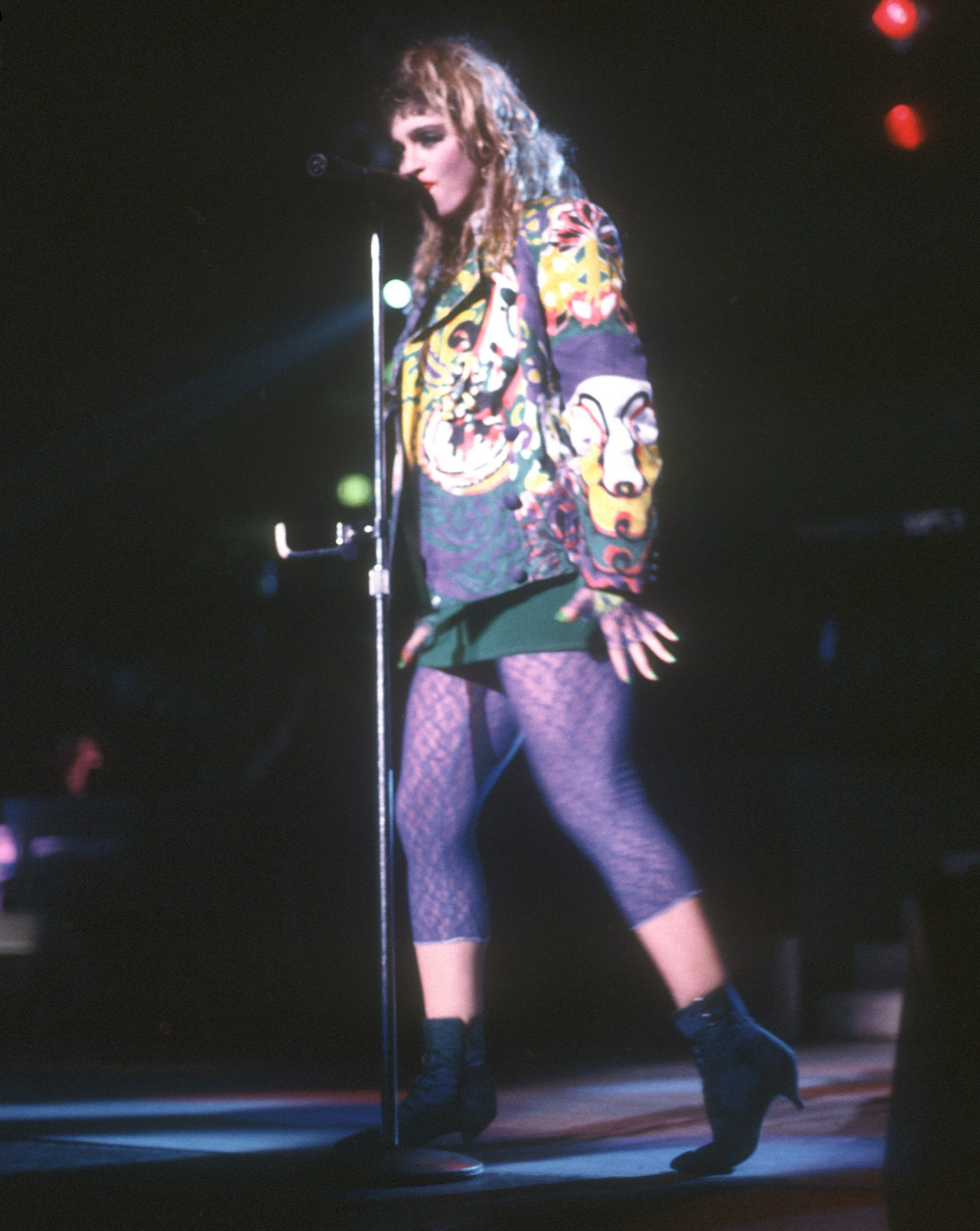 1984: Onstage at Madison Square Garden
