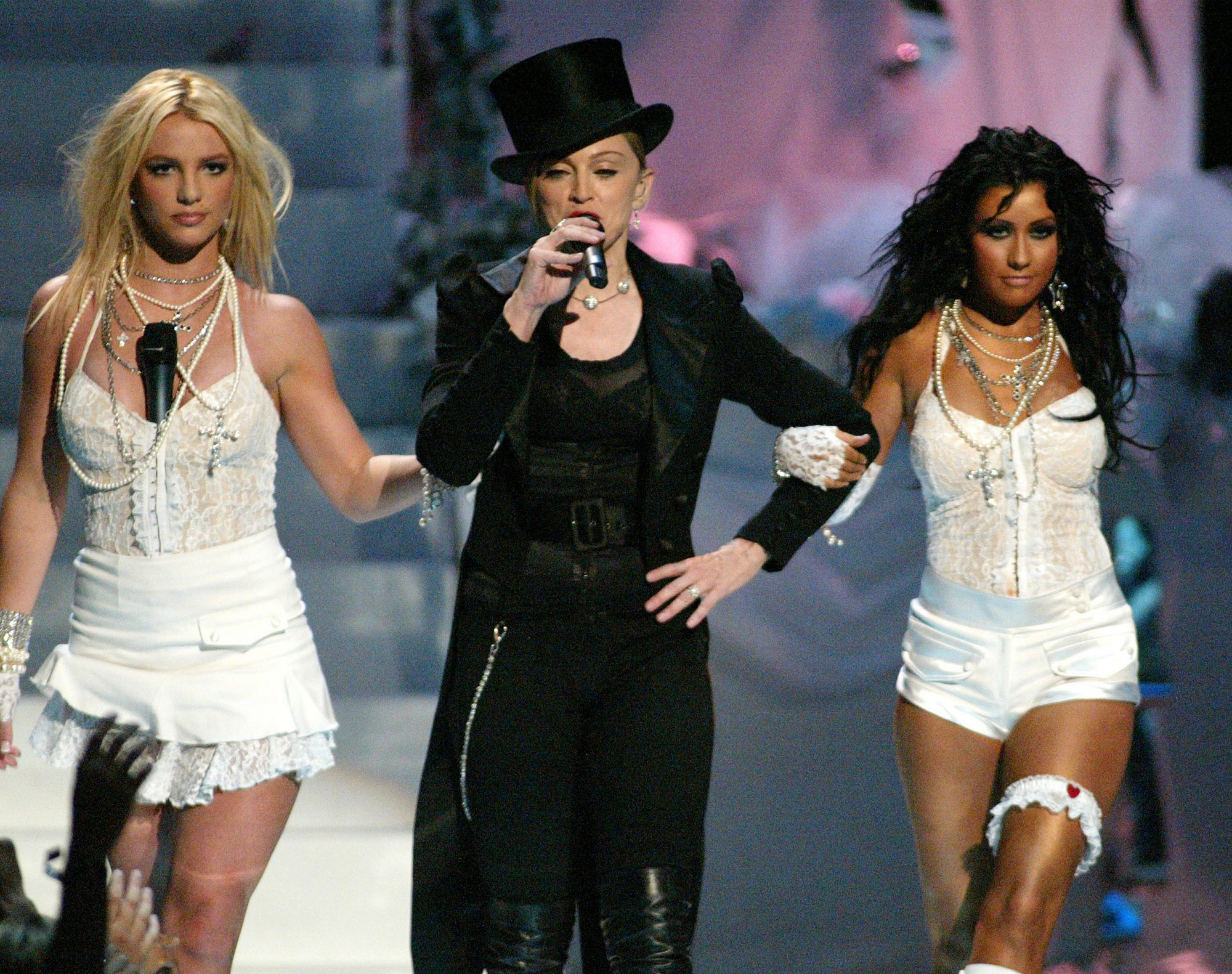 2003: Onstage at the 20th VMAs