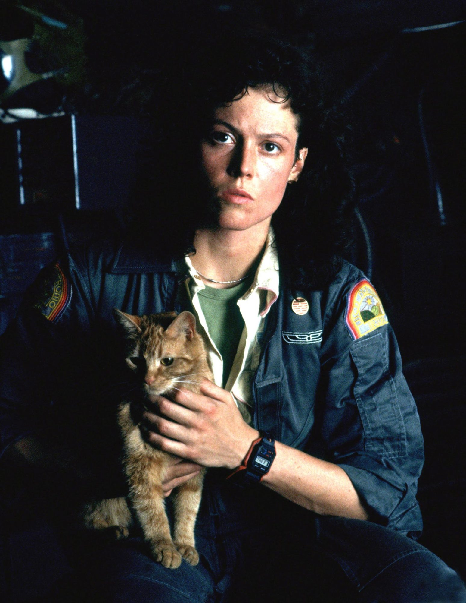 ALIEN, Sigourney Weaver, 1979, TM & Copyright (c) 20th Century Fox Film Corp. All rights reserved.