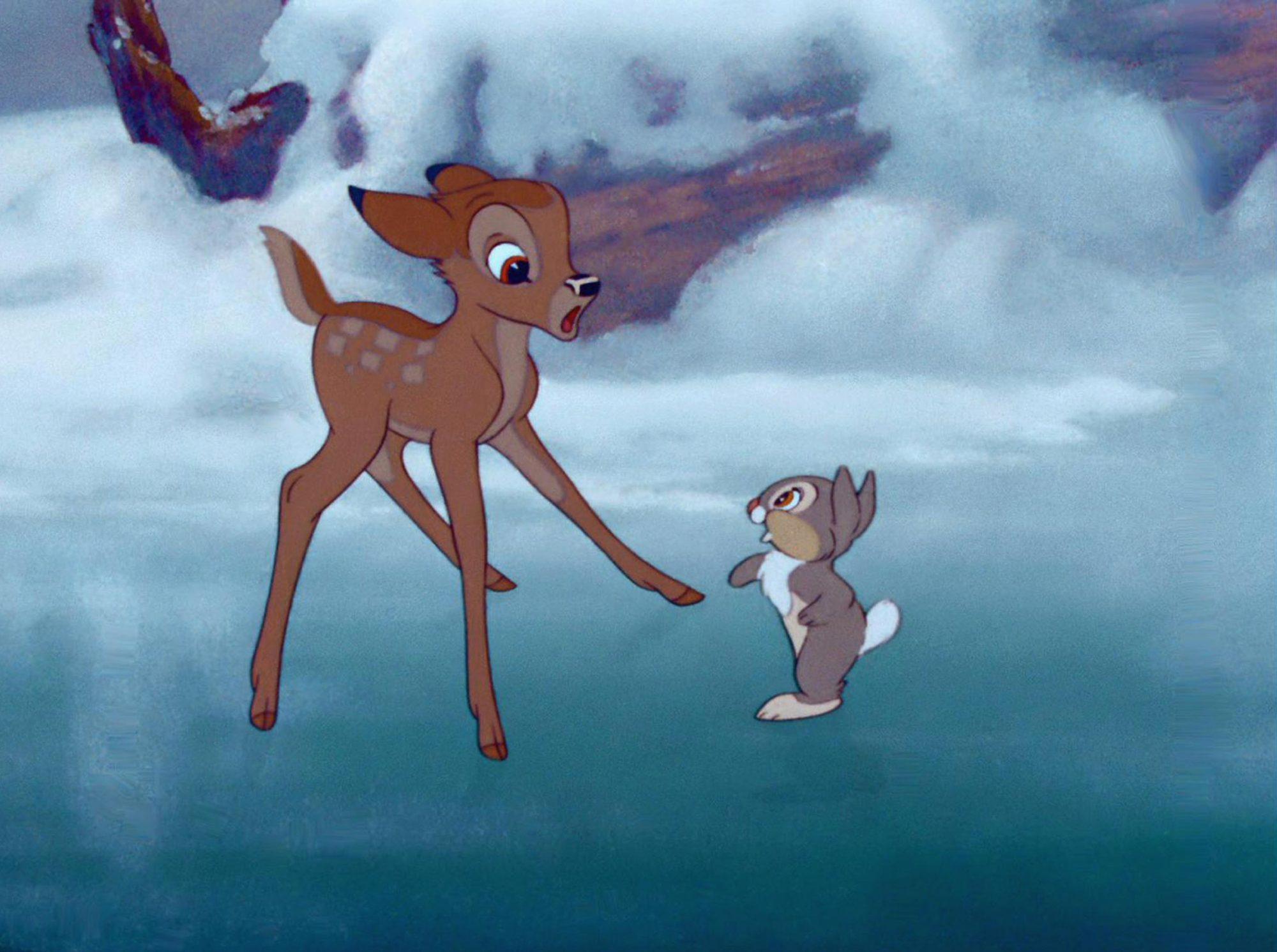 BAMBI, Bambi, Thumper, 1942