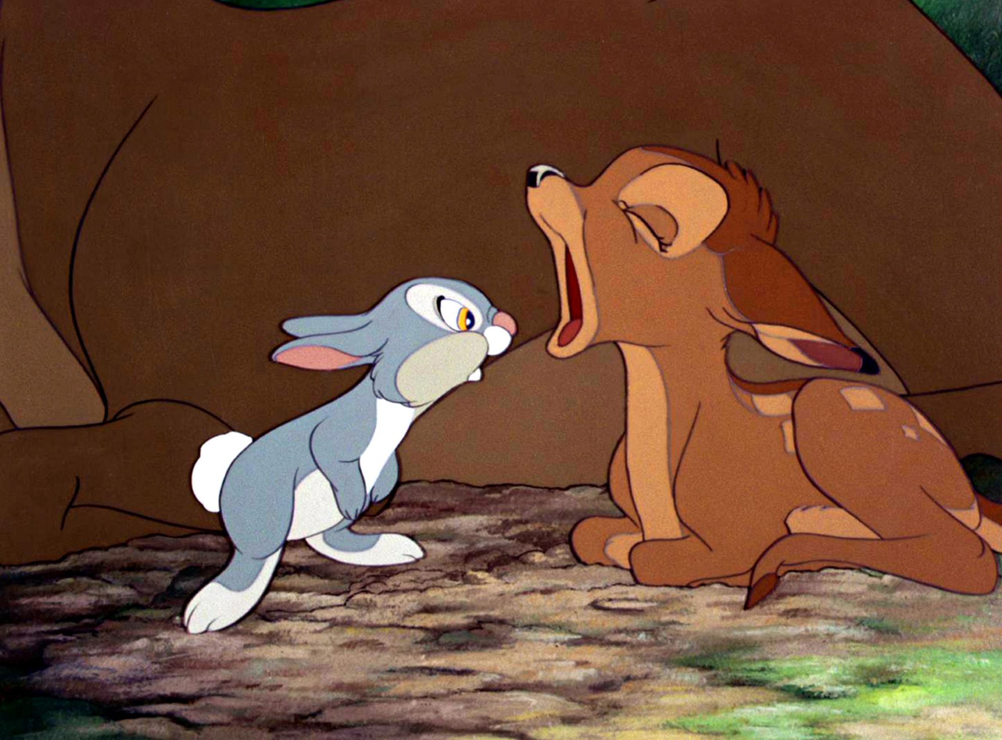 BAMBI, Thumber, Bambi, 1942