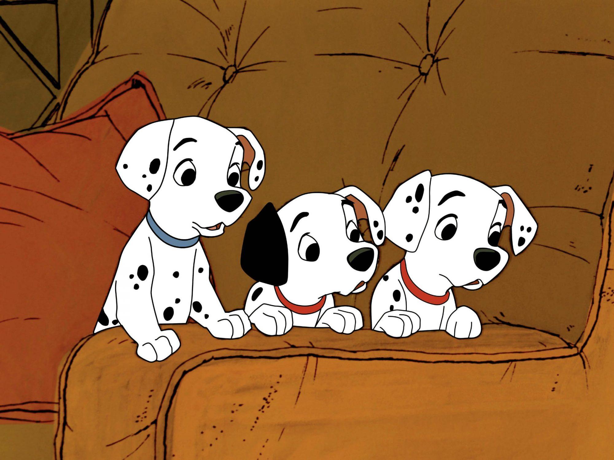 101 DALMATIANS (aka ONE HUNDRED AND ONE DALMATIANS), Dalmatian puppies, 1961, ©Walt Disney Pictures/