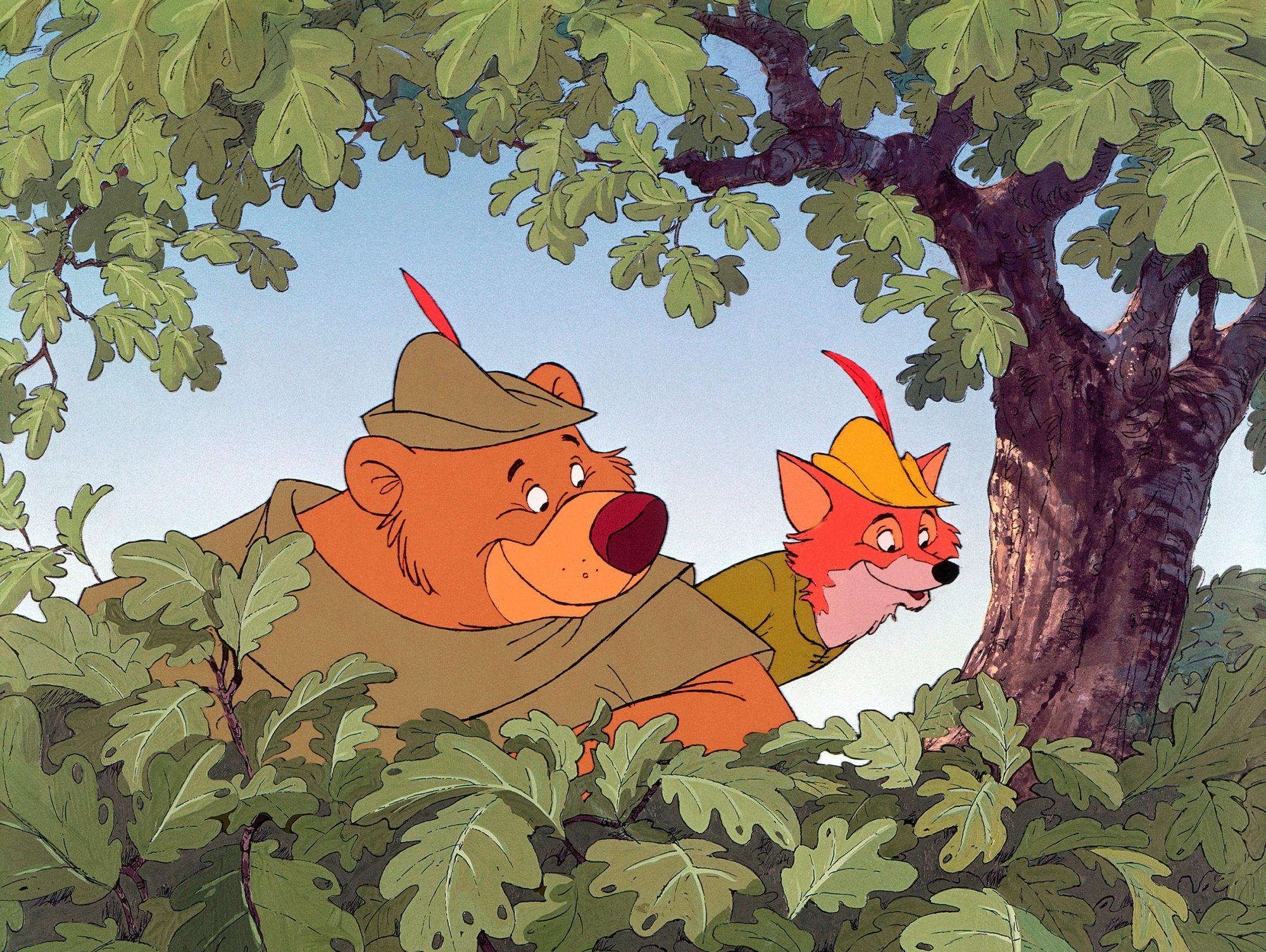 ROBIN HOOD, Little John, Robin Hood, 1973