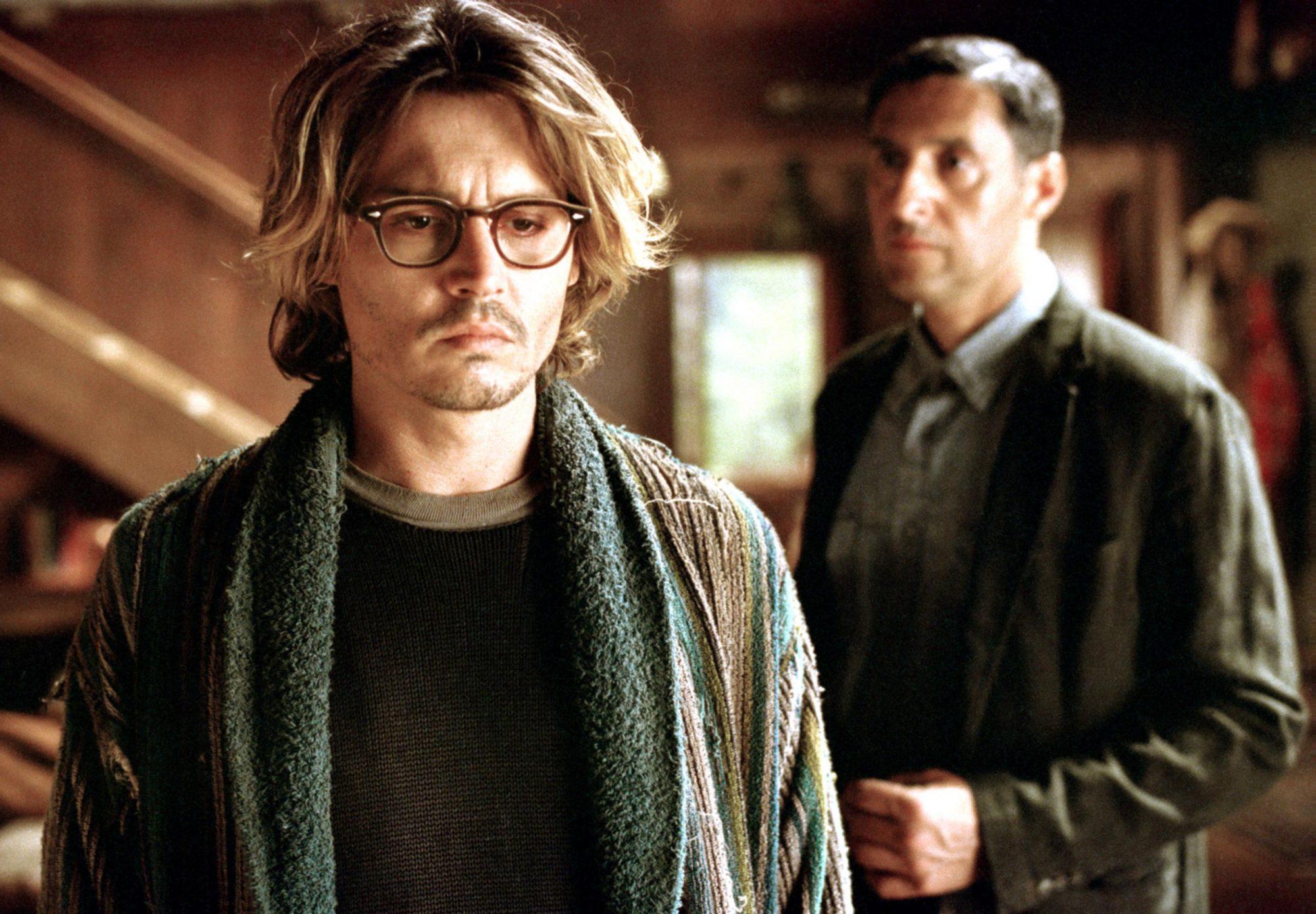 SECRET WINDOW, Johnny Depp, John Turturro, 2004, (c) Columbia/courtesy Everett Collection