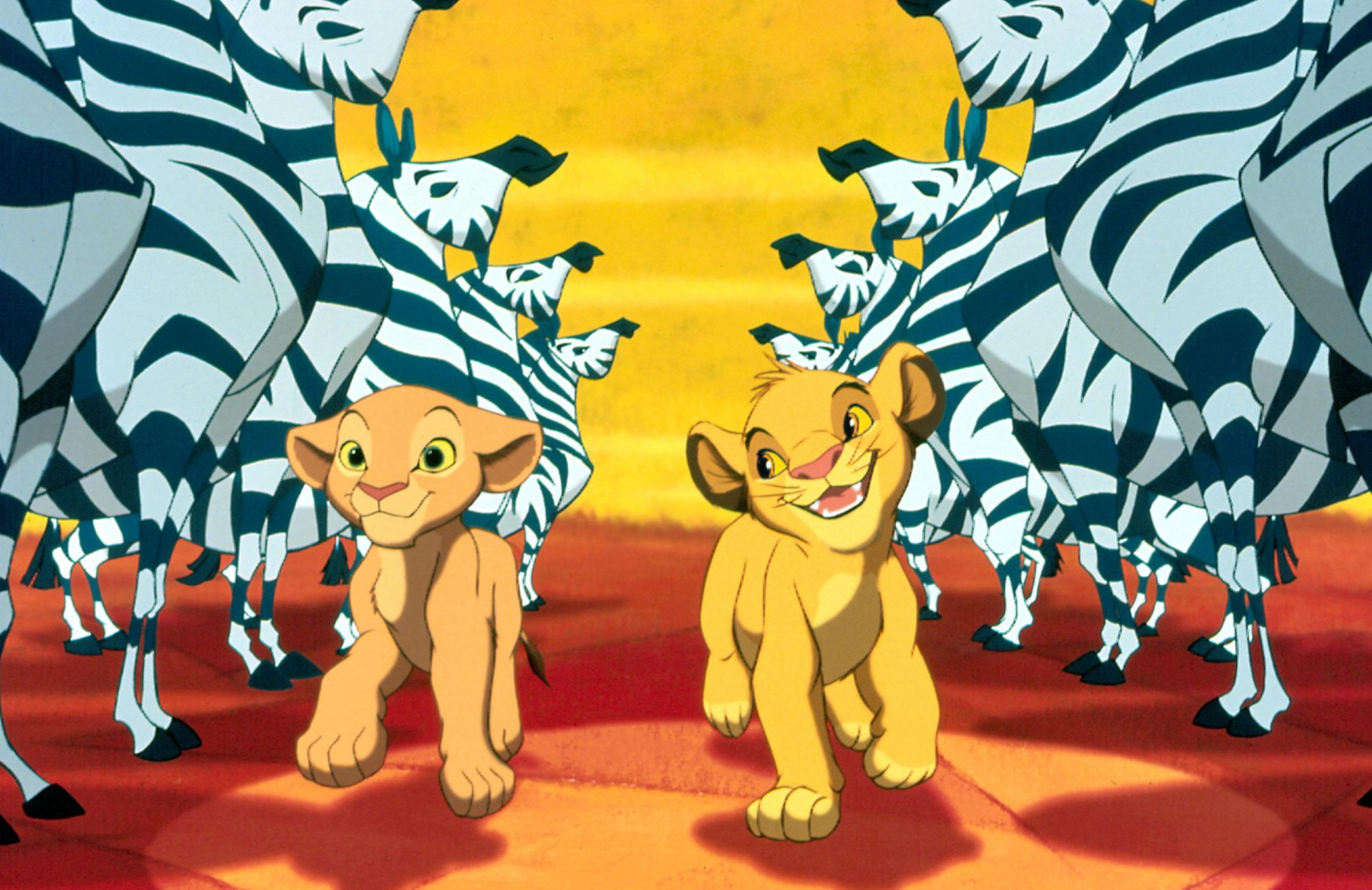 THE LION KING, Nala, Simba, 1994. ©Buena Vista Pictures/Courtesy Everett Collection