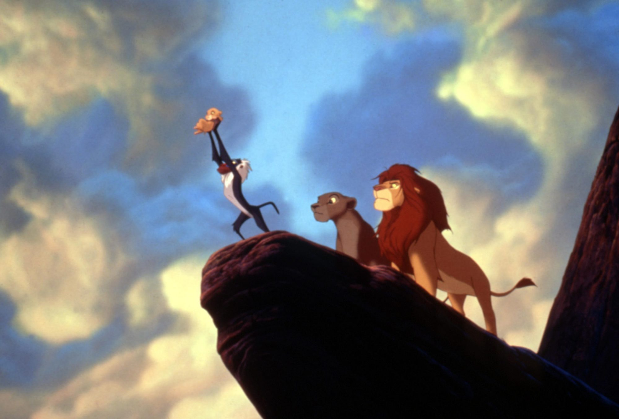 THE LION KING, Simba, Rafiki, Sarabi, Mufasa, 1994, (c)Buena Vista Pictures/courtesy Everett Collect