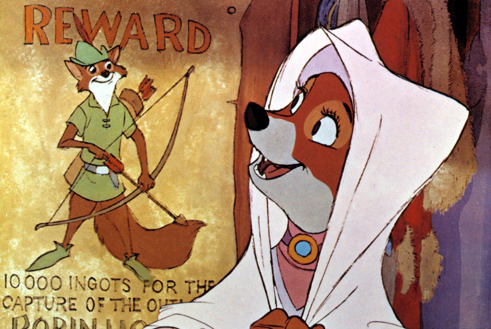 ROBIN HOOD, Walt Disney Production, 1973