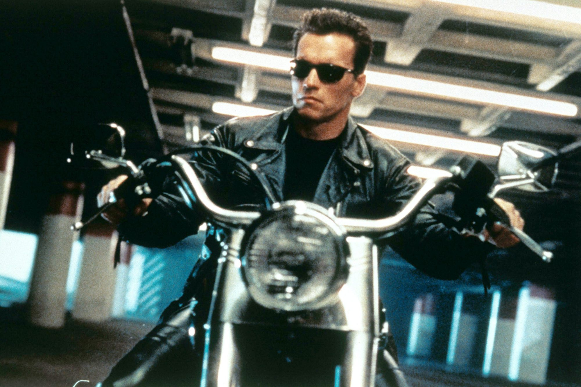 TERMINATOR 2: JUDGMENT DAY, Arnold Schwarzenegger, 1991.
